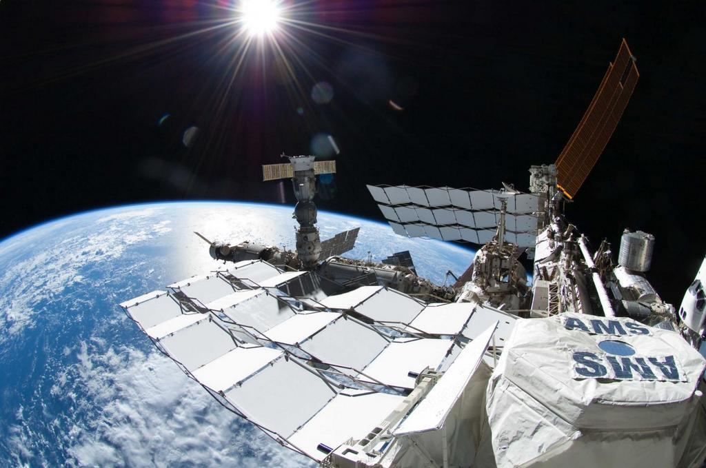 AMS Space Experiment Sees Hints of Dark Matter Particles