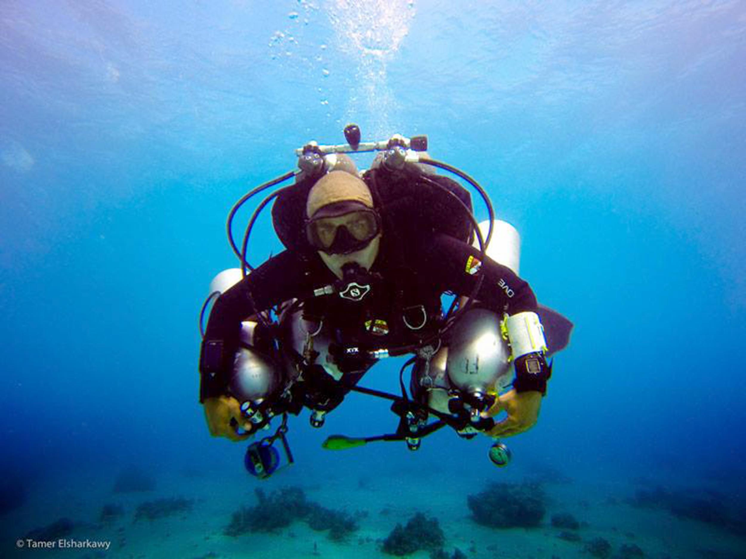 Egyptian Scuba Diver Ahmed Gabr Plunges 1,066 Feet To Set