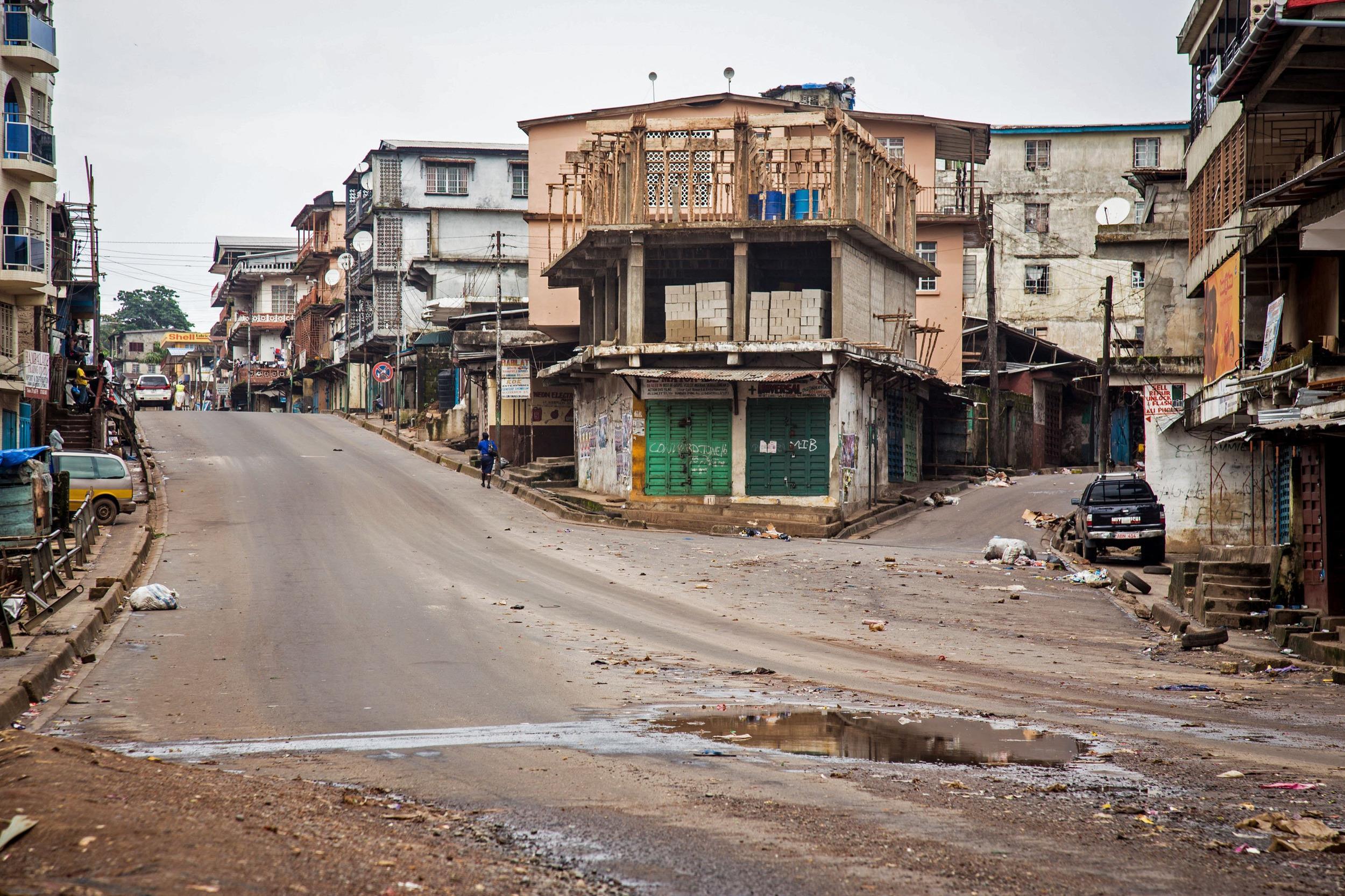 Freetown Sierra Leone  City pictures : Sierra Leone Begins Three Day Ebola Lockdown NBC News