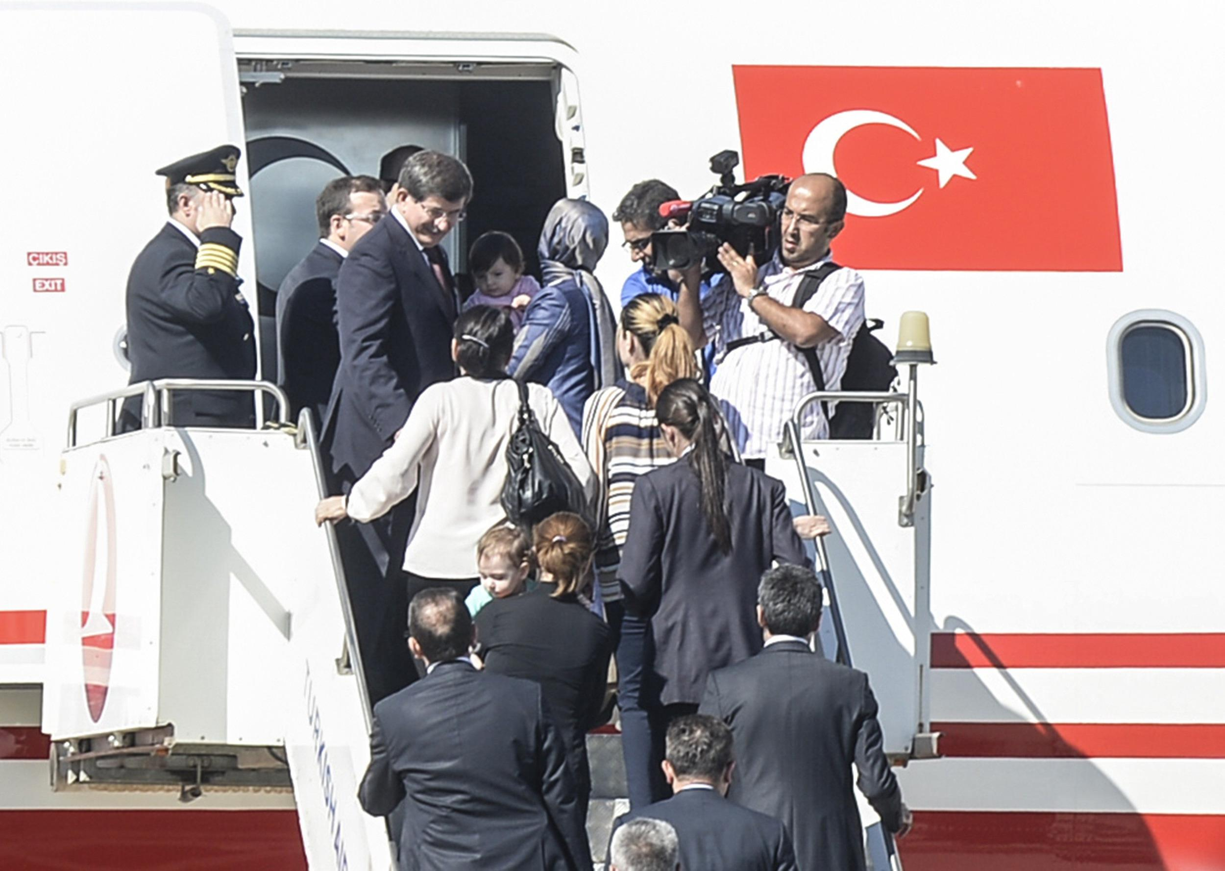 Free at Last: ISIS Militants Release 49 Turkish Hostages
