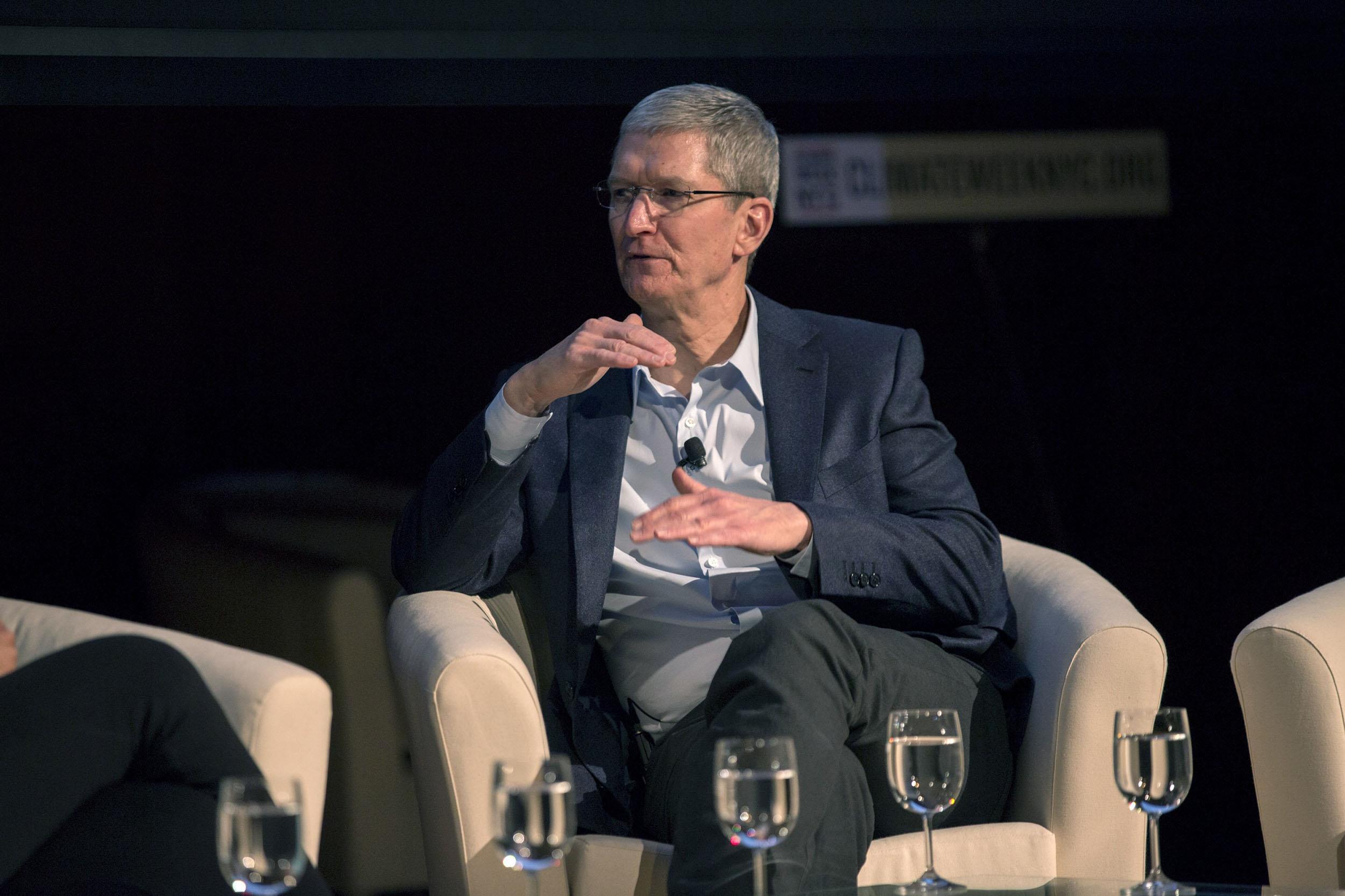 Tim Cook to Tech Firms: Get