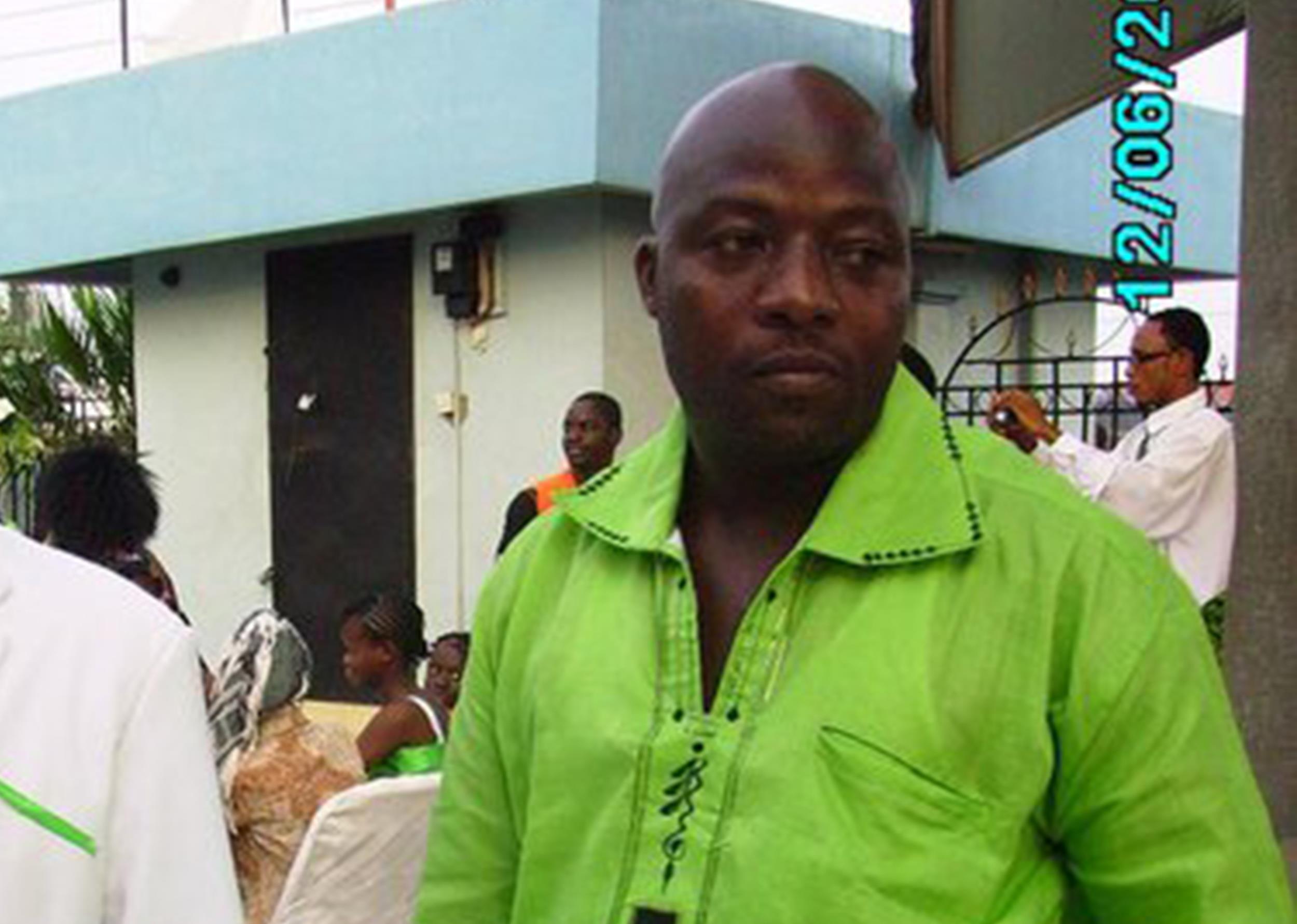 Ebola Patient Thomas Eric Duncan - 239.4KB