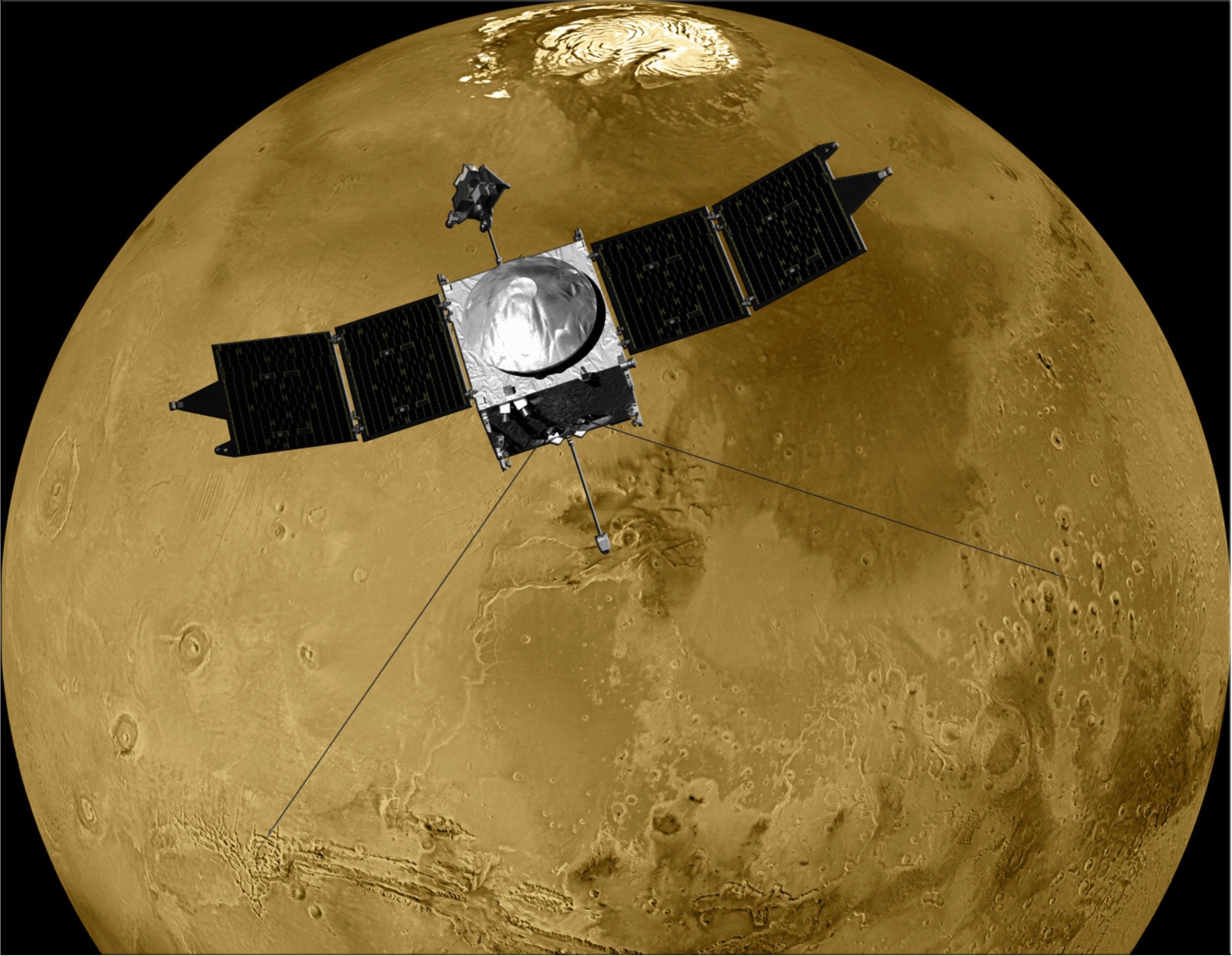 NASA's Maven Orbiter Weathers Its First Solar Storm at ...