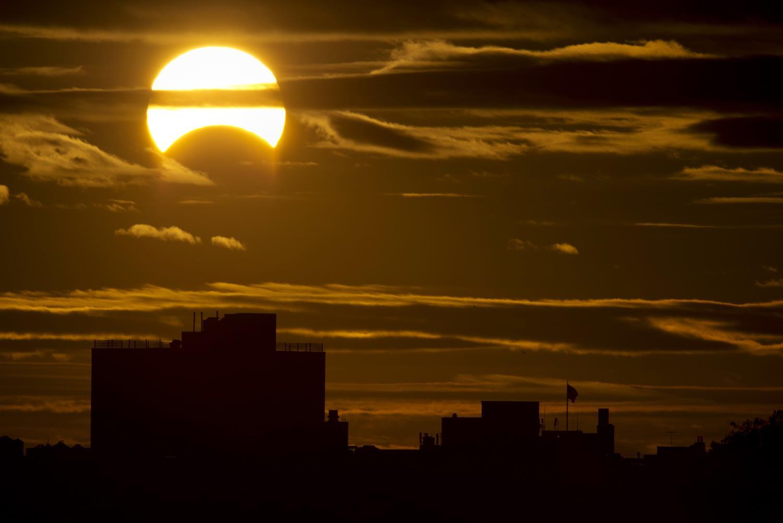 Long Island Ny Eclipse