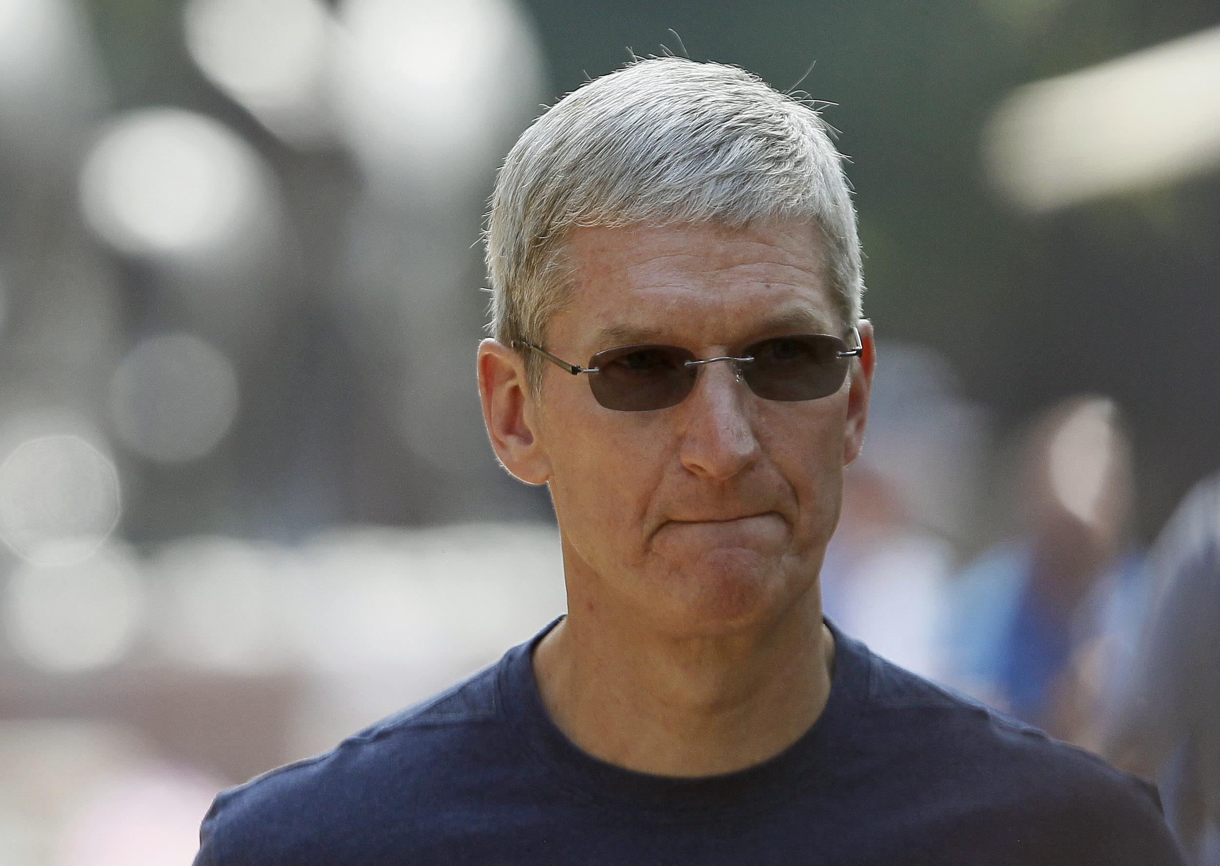 Apple CEO Talks Security With