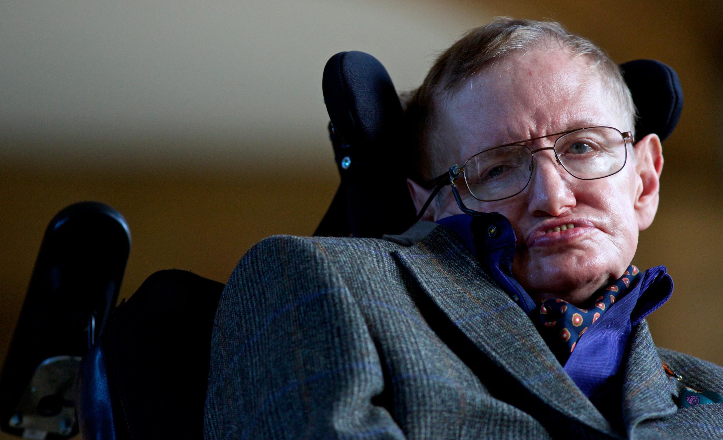 Stephen Hawking's First