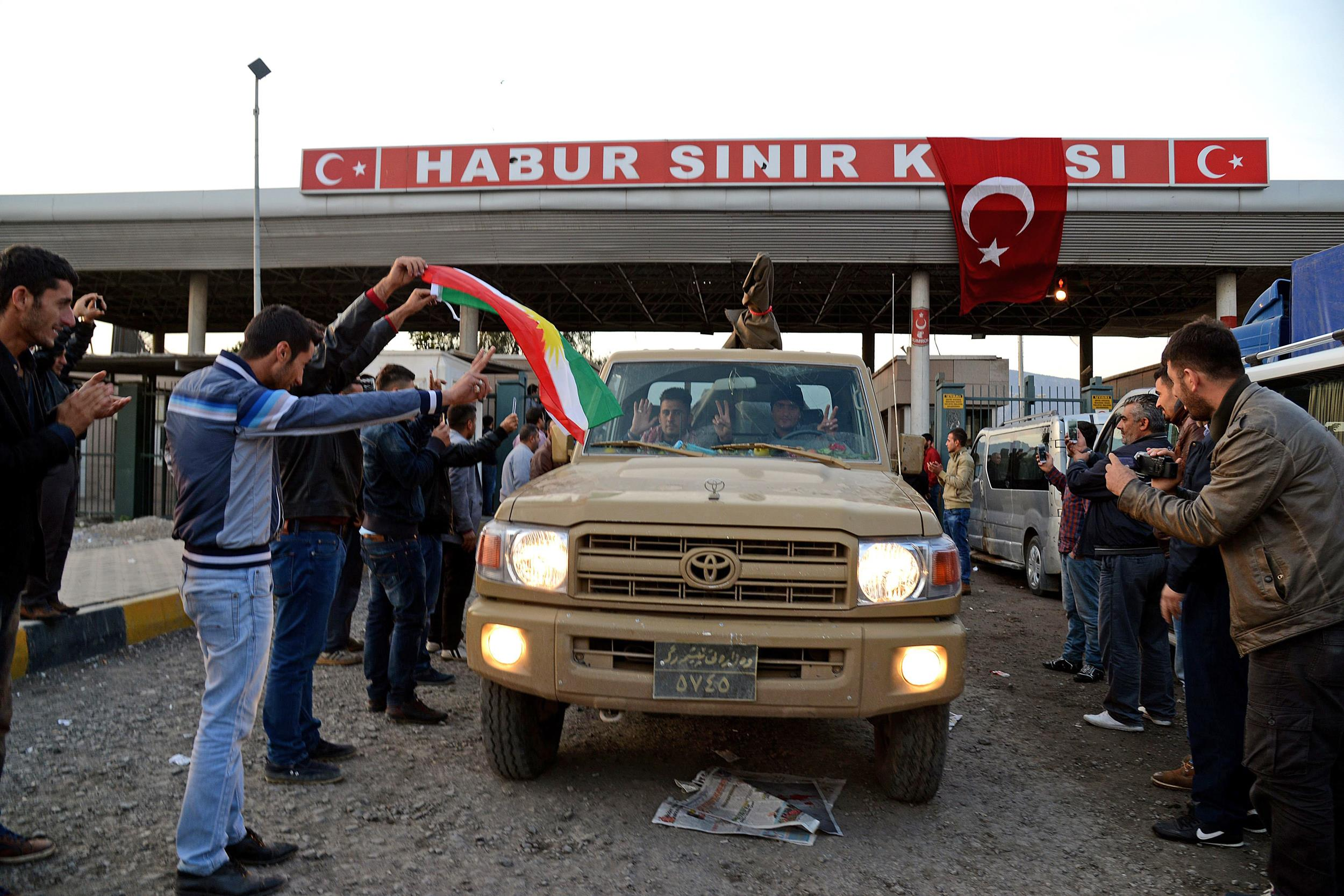 En route to join fight against isis in syria s kobani nbc news