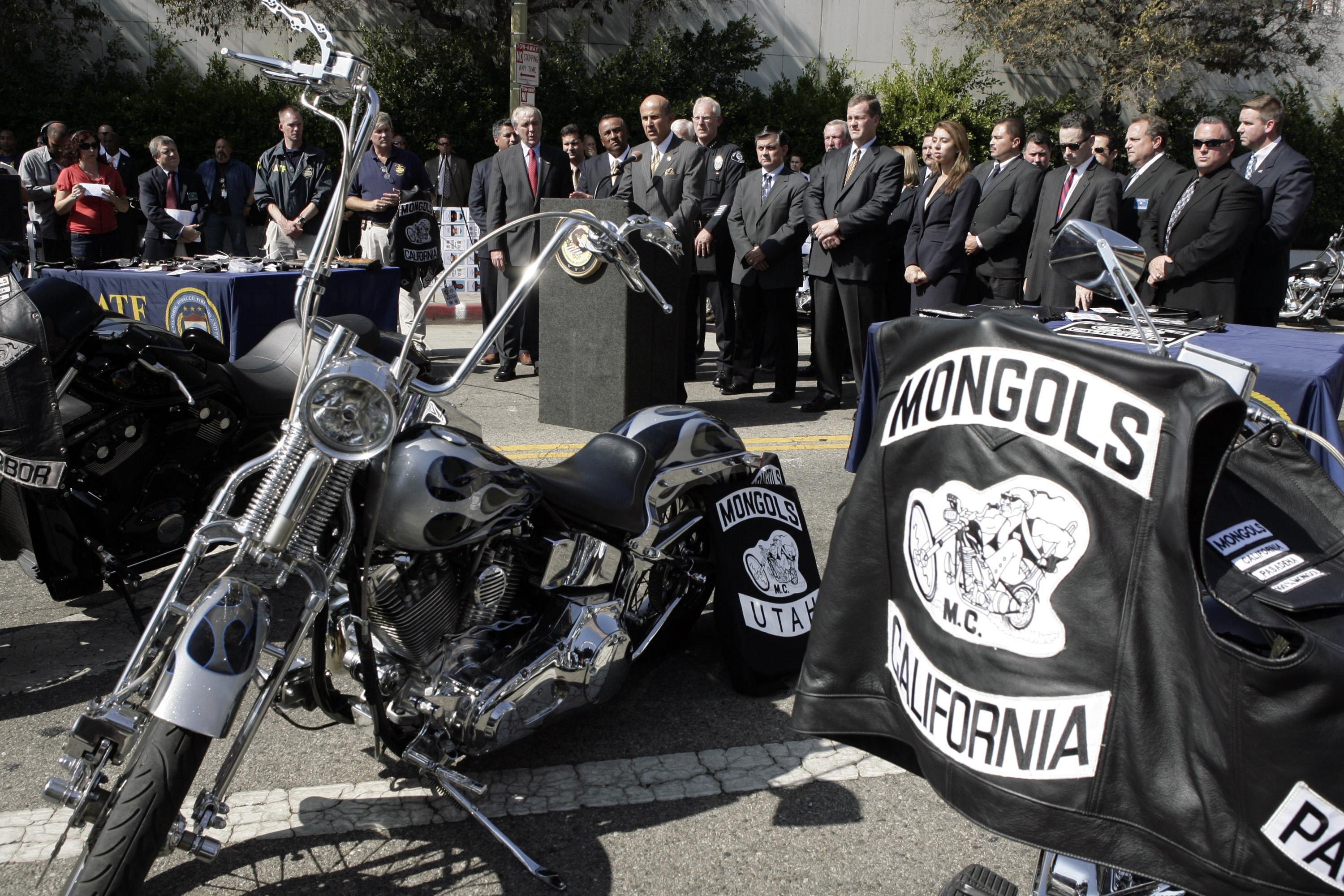 los angeles and gay leather motorcycle club