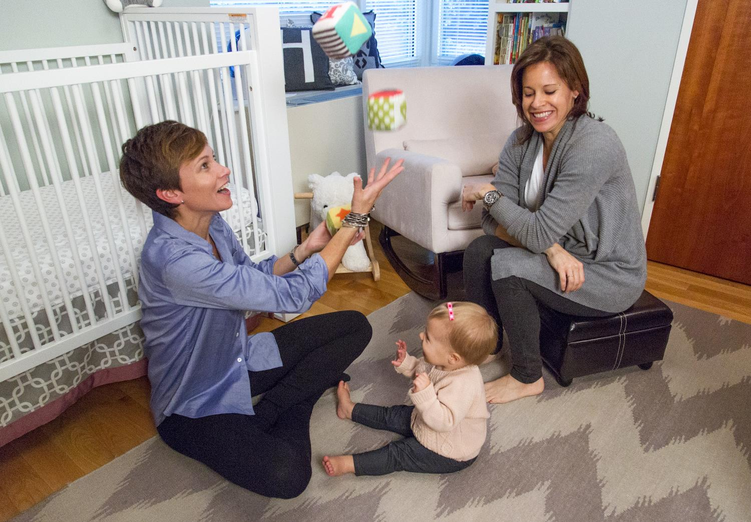 At Home With Today Jenna Wolfe S Daughter S Nursery