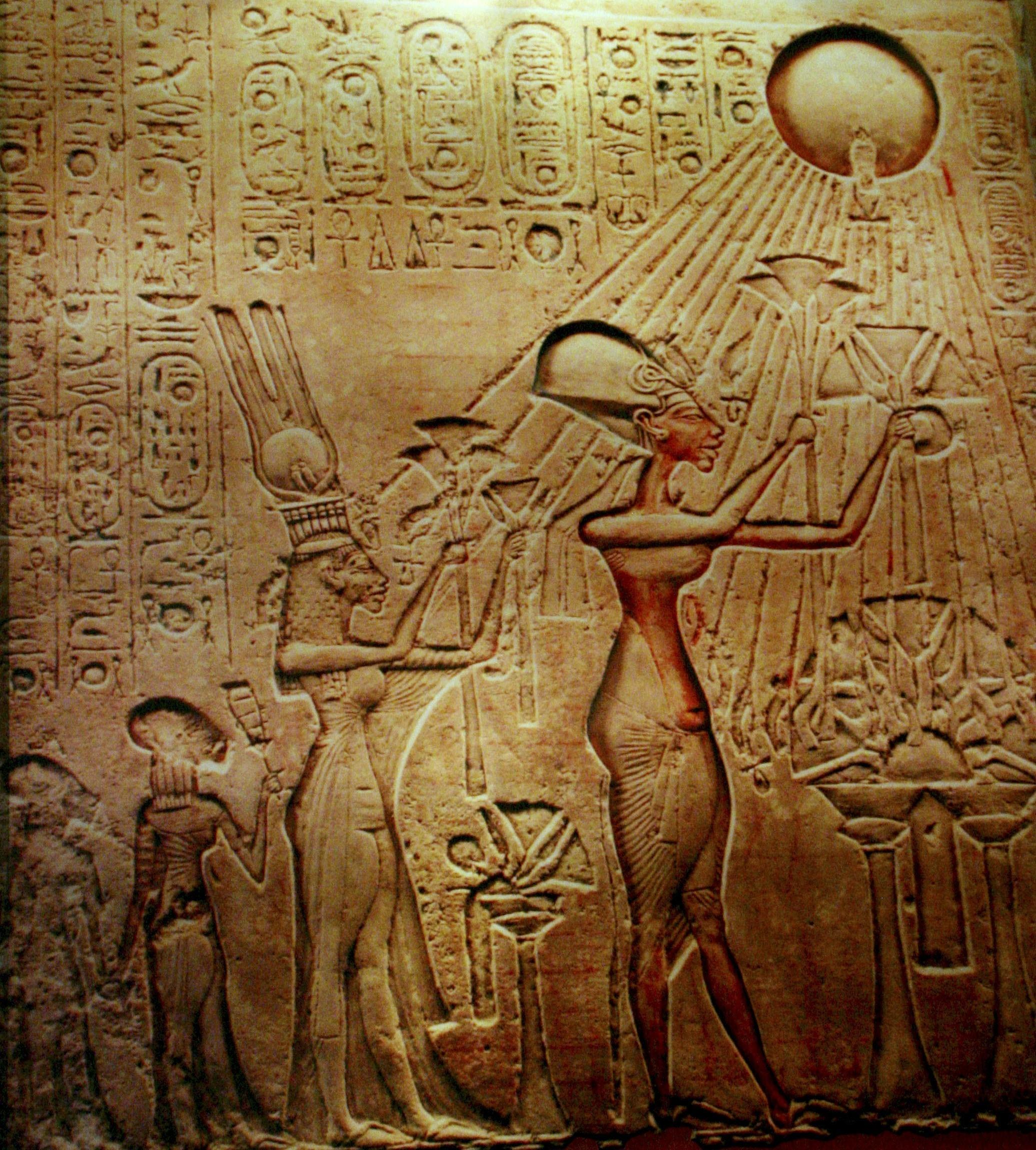 an analysis of the famous statue of akhenaton essay Head from a statue of akhenaten,  and the sculptor's workshop where the famous nefertiti bust,  akhenaton, le dieu maudit (akhenaten, .