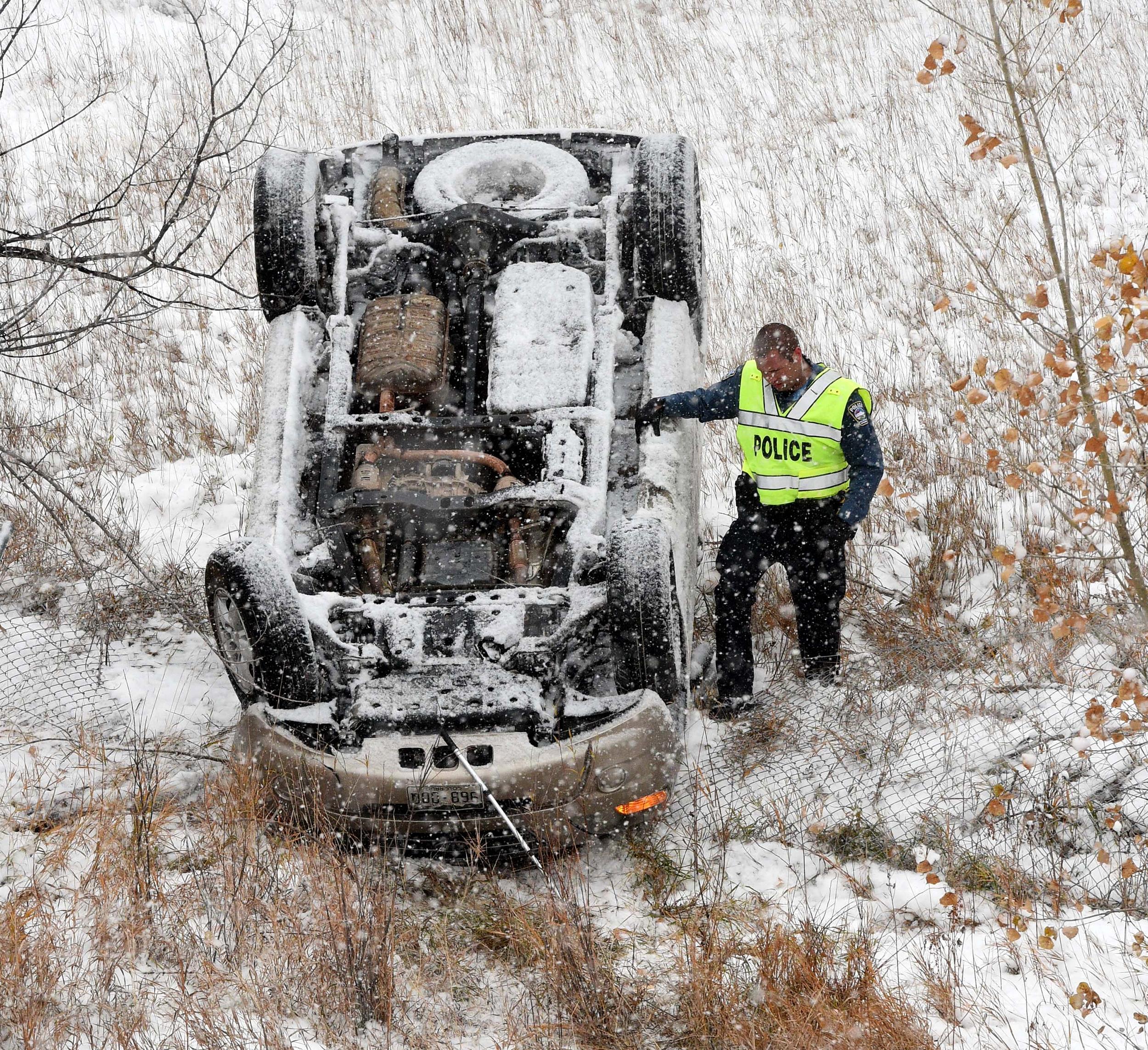 'Classic Arctic Outbreak': Winter Storm Puts Millions On