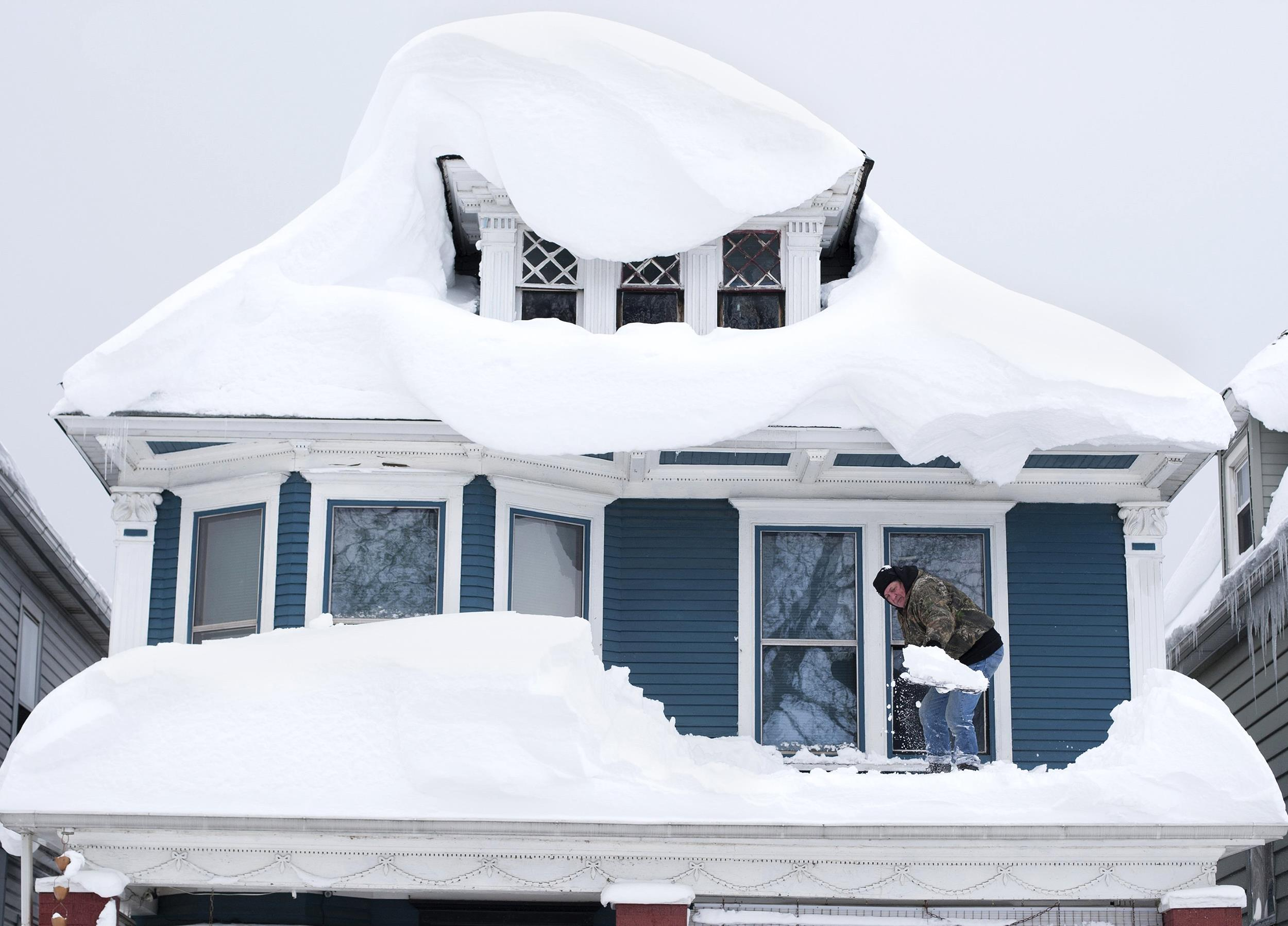 fear turns to roofs and flooding after deadly snowstorm in