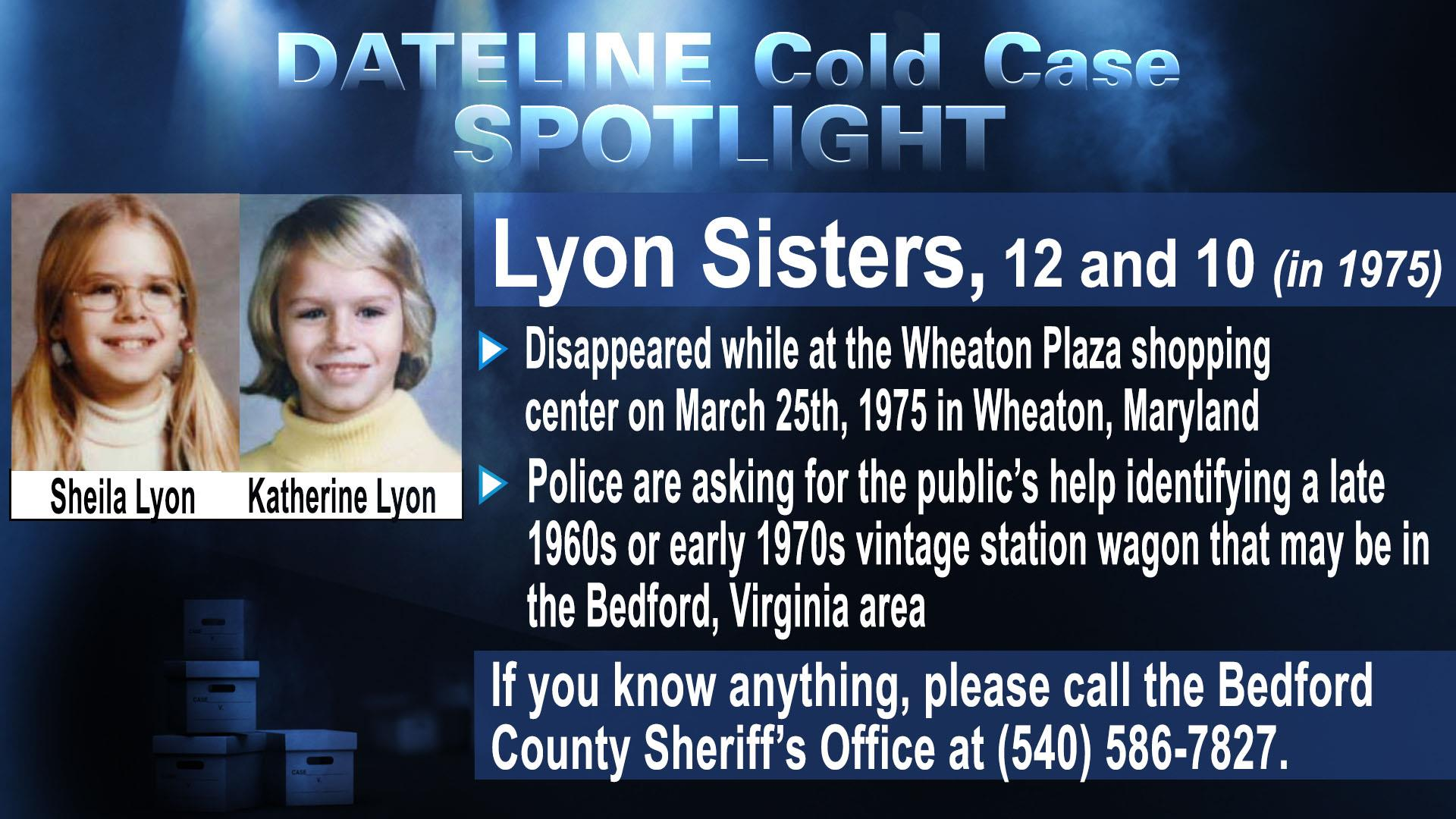 The mysterious case of the lyon sisters nbc news