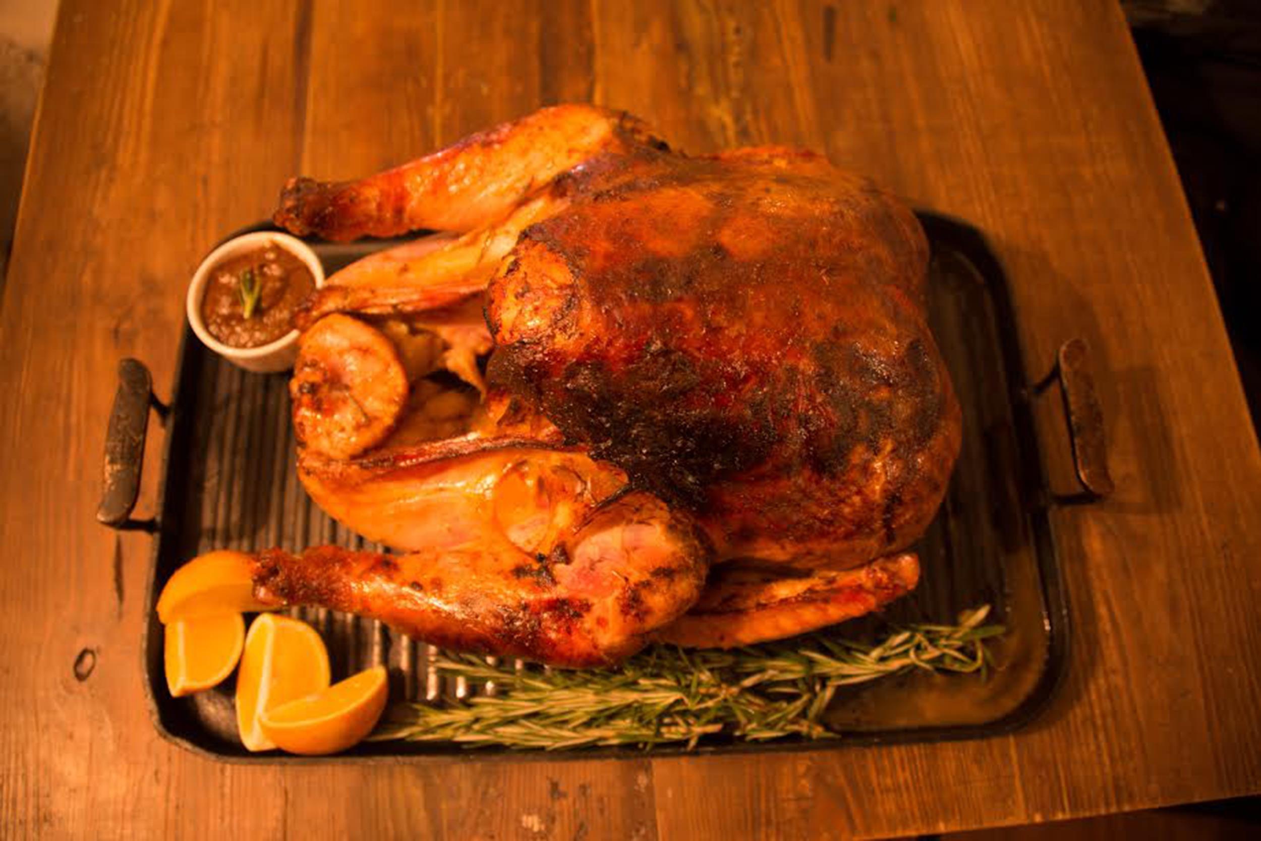 Yum Turkey Al Mole Arroz Con Coco Latino Thanksgiving