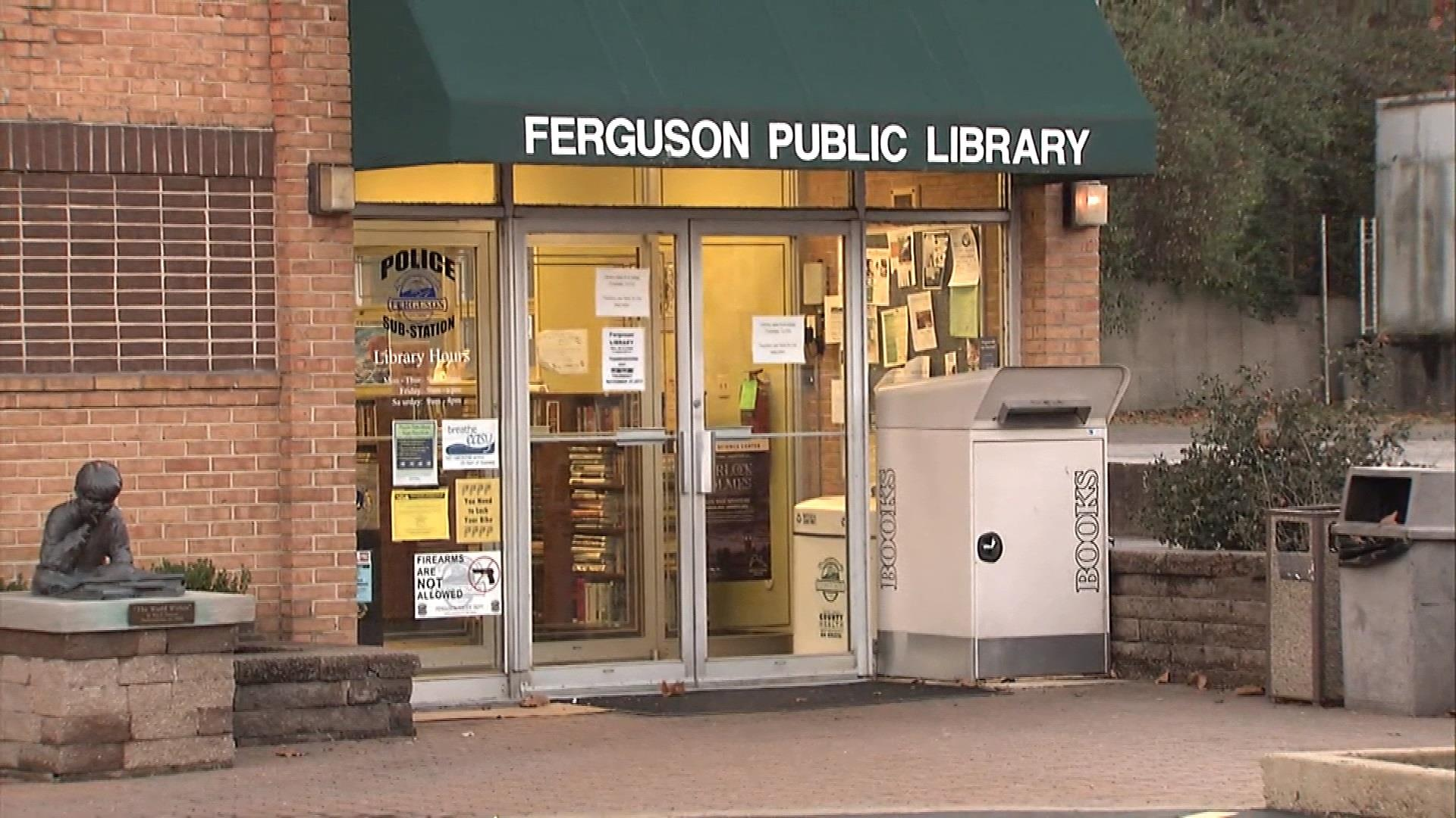 In This Together\': Ferguson Library Stays Open Amid Violence