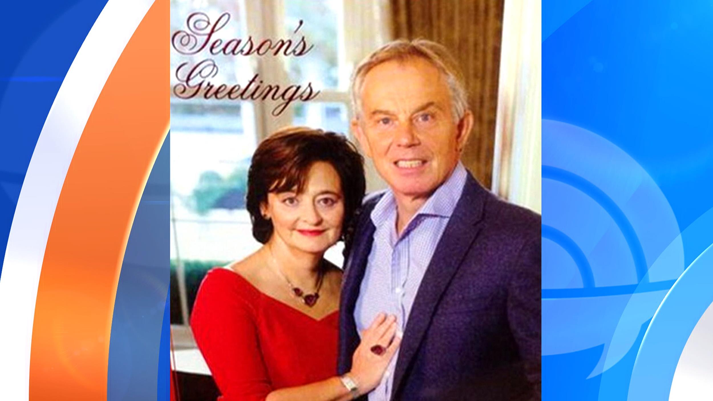 Twitter Mocks Tony Blair's 'Terrifying' Christmas Card - NBC News