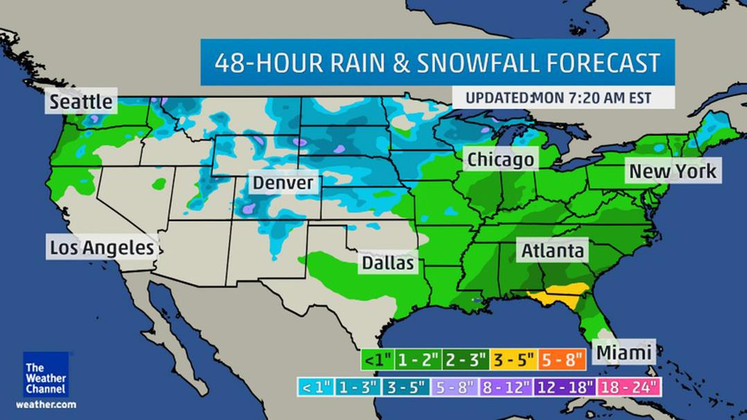 Christmas Week Storm Threatens Holiday Travel Chaos