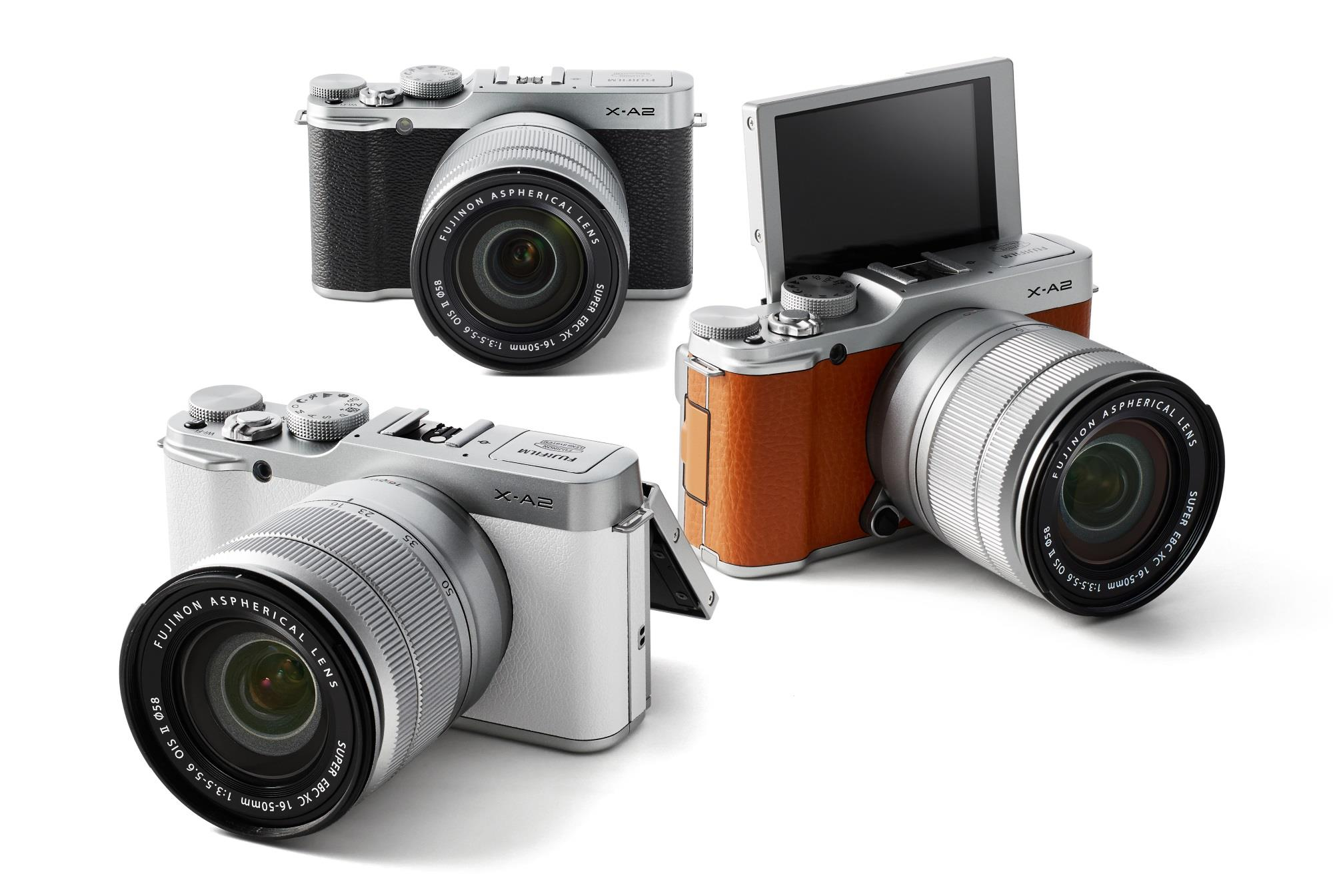 Fujifilm's X-A2 Camera Adds 'Selfie-Ready' LCD, New Lens