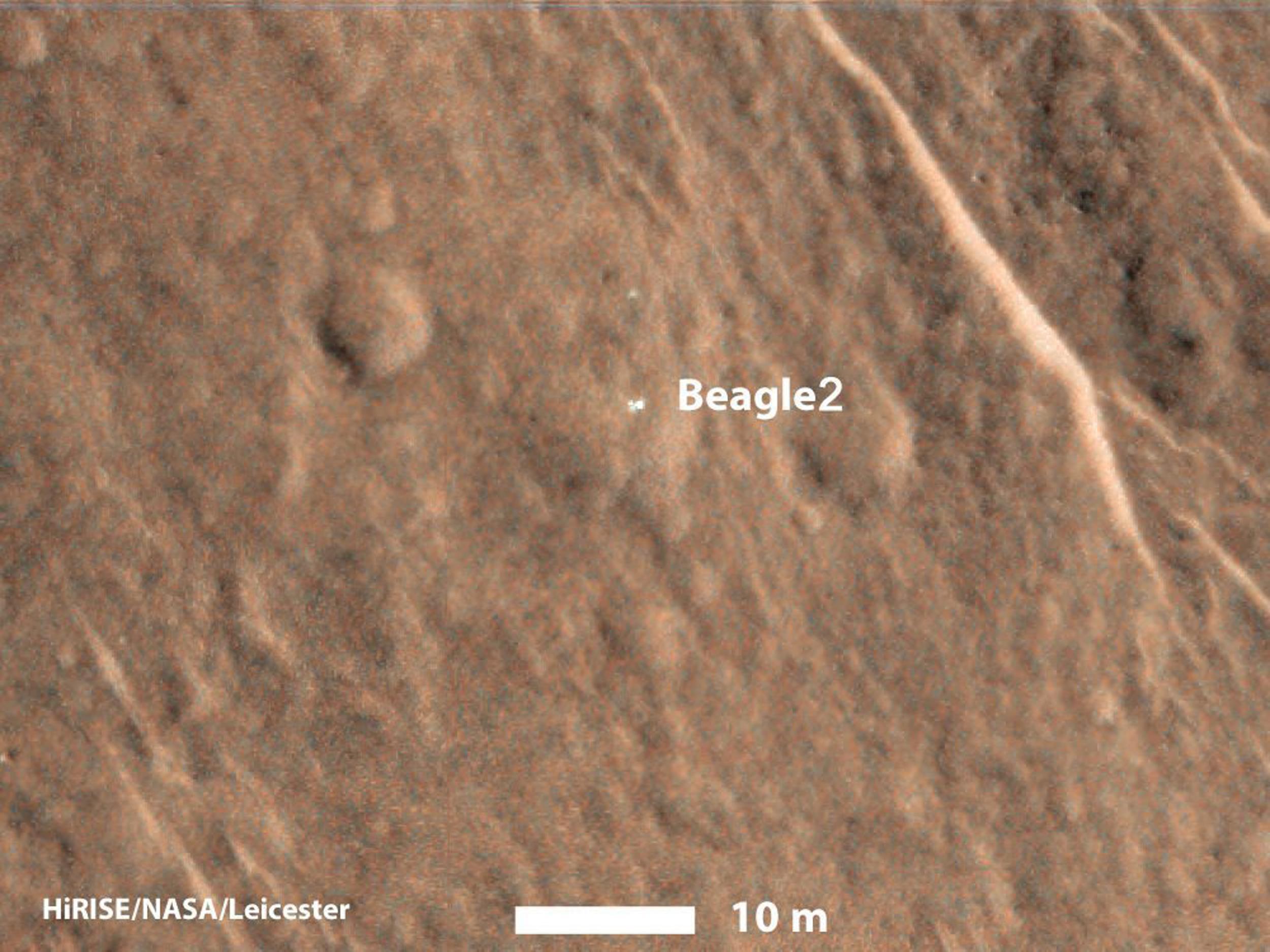 Missing Beagle 2 Mars Lander Spotted on Planet's Surface ...