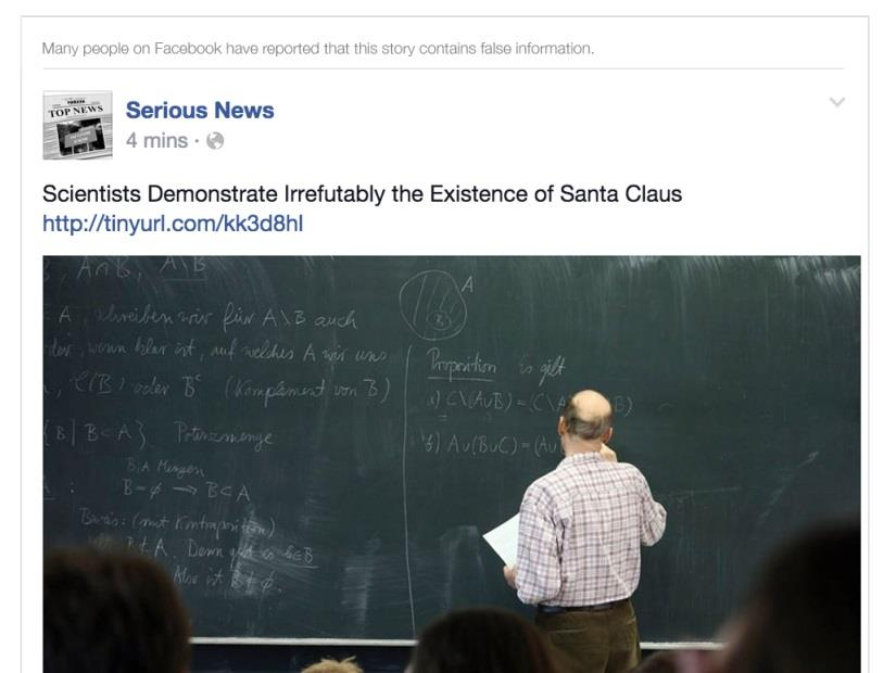Facebook Wants to Boot Hoaxes From Your News Feed
