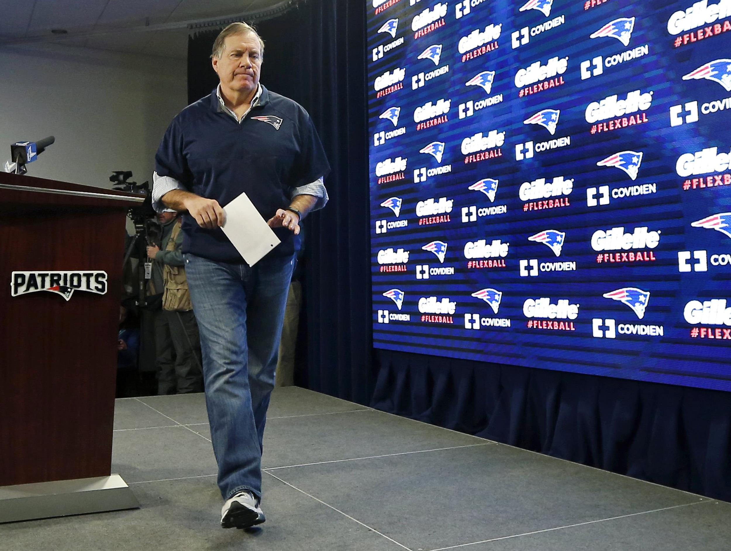 belichick misinterpreted the rules of dating