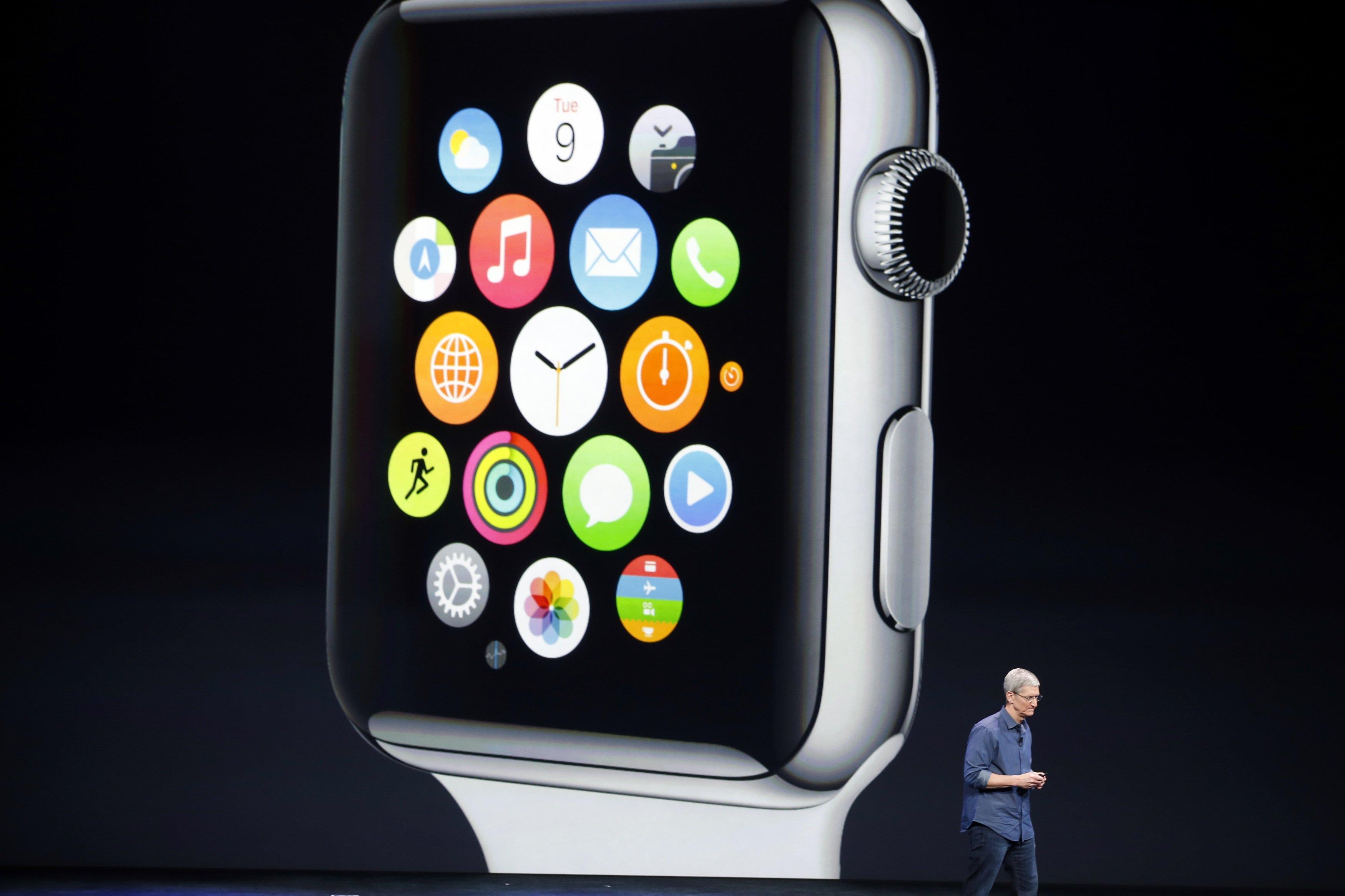 Tim Cook Says Apple Watch
