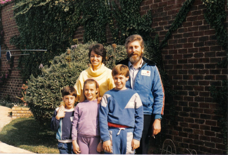 Last normal family photo 1987 e605b4b34c729897c8dcd3d5c16a3789