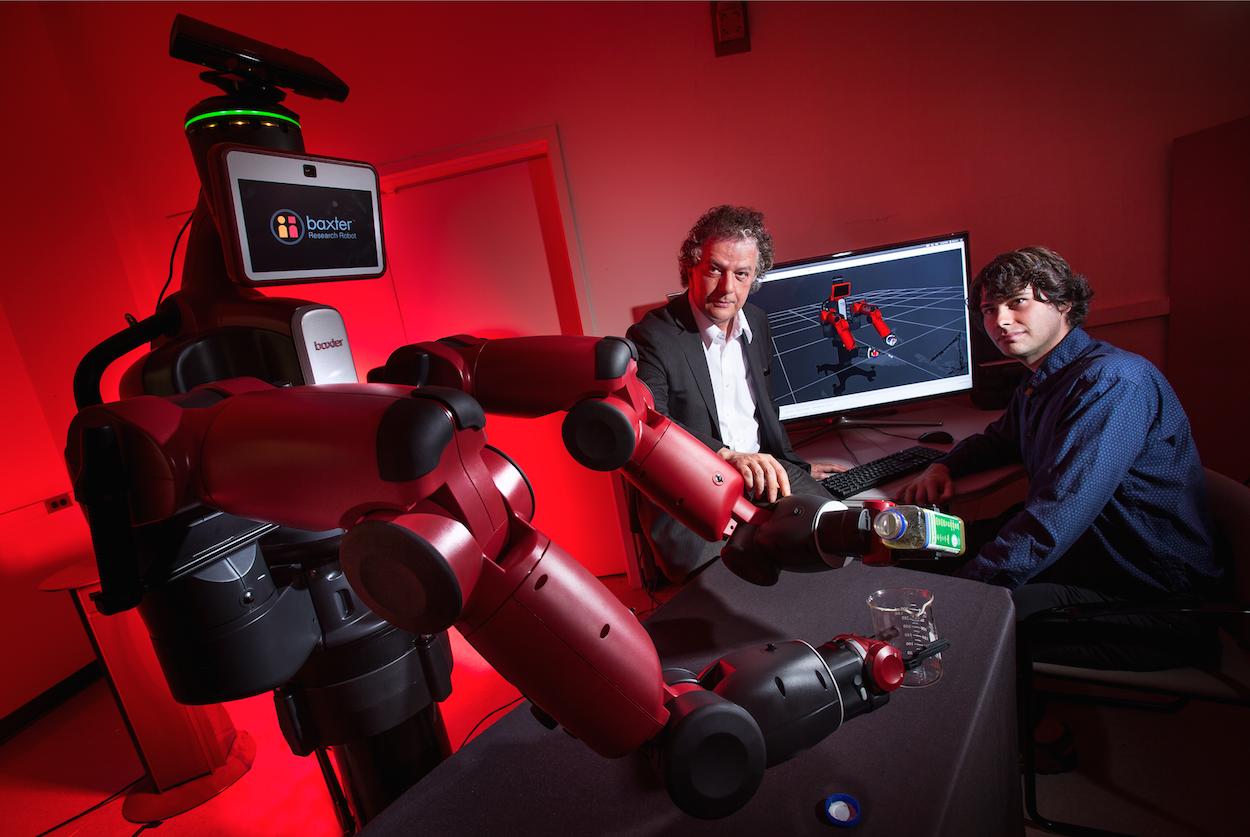 University of maryland for Cocinar con robot