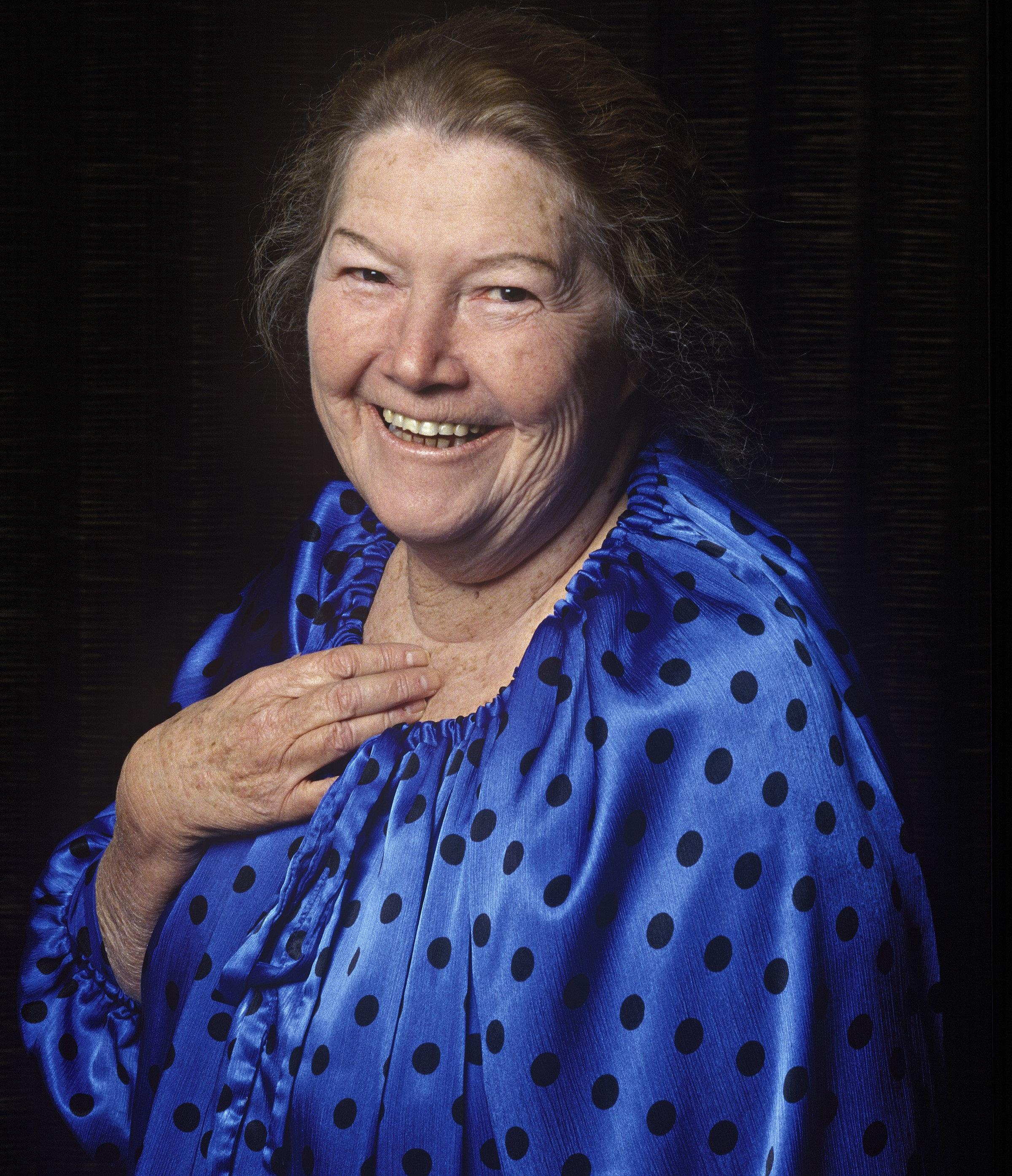 Image: Australian Author Colleen McCullough