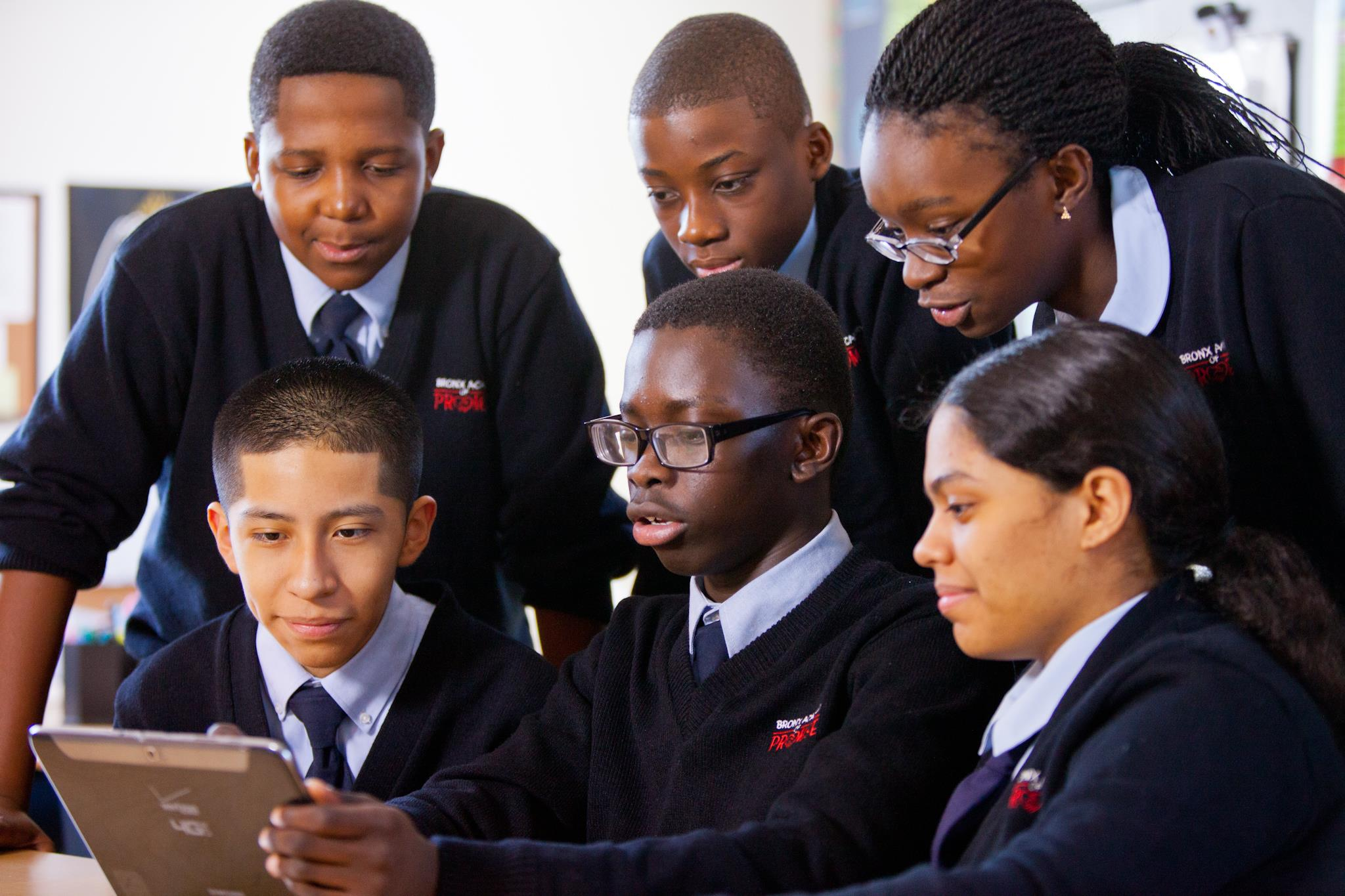 Student Winners from The Bronx Academy of Promise Charter School in New York City