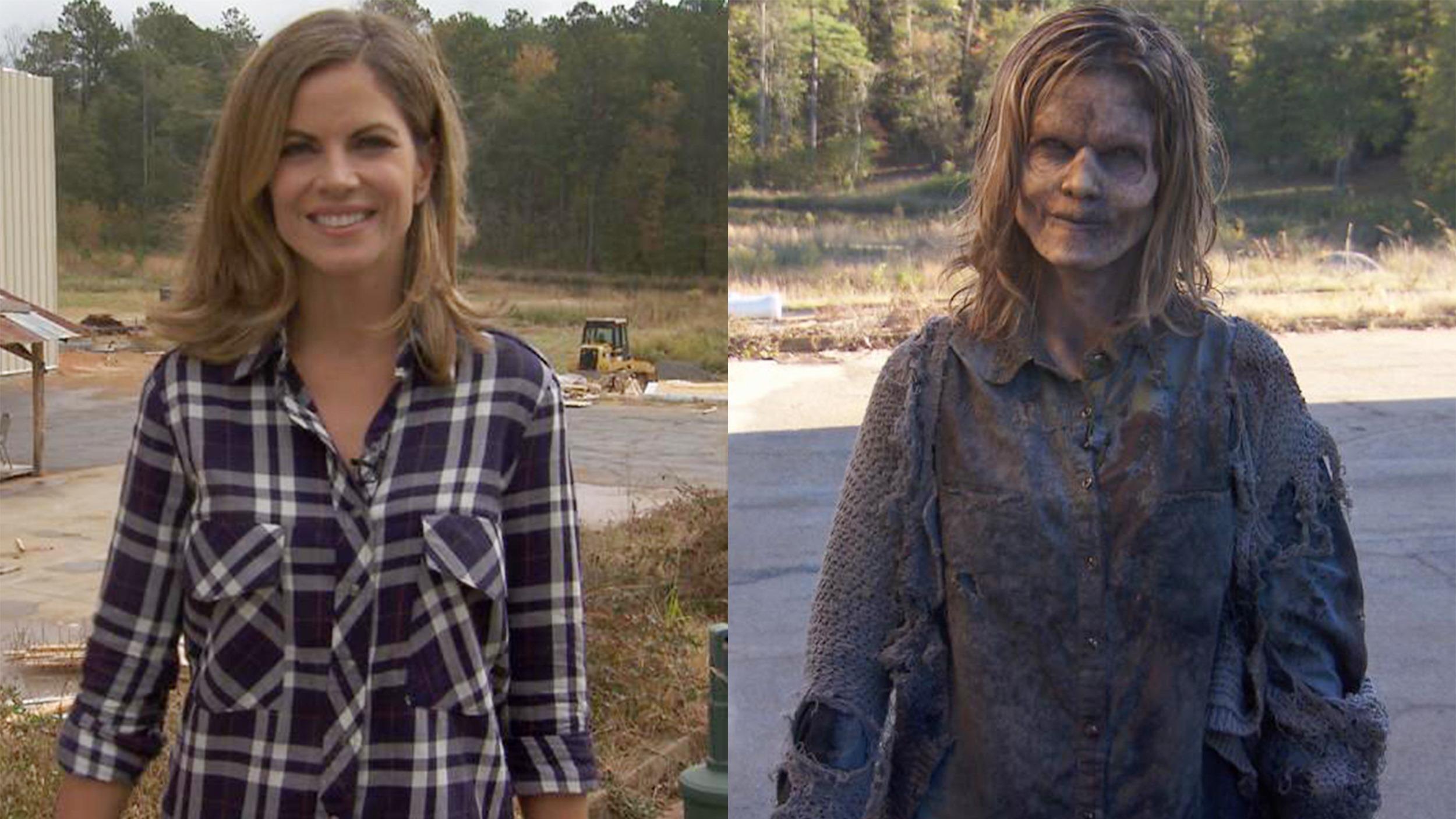 Walking Dead: 'Dressed To Kill': Watch Natalie Transform Into A 'Walking