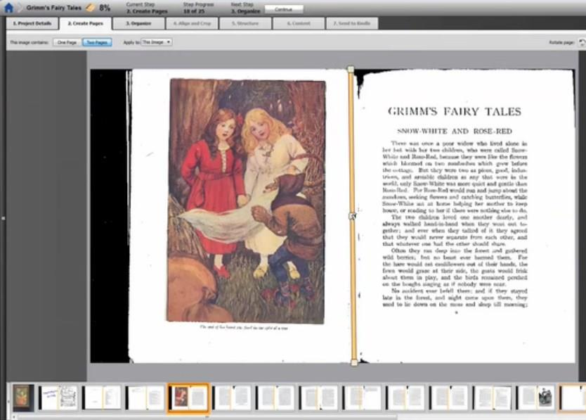 Amazon's Kindle Convert Turns Paper Books Into E-Books - Slowly