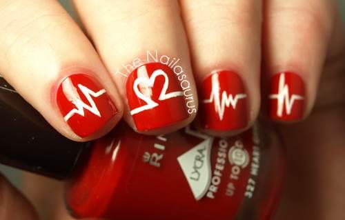 - Fall In Love With 11 Valentine's Day Nail Art Designs
