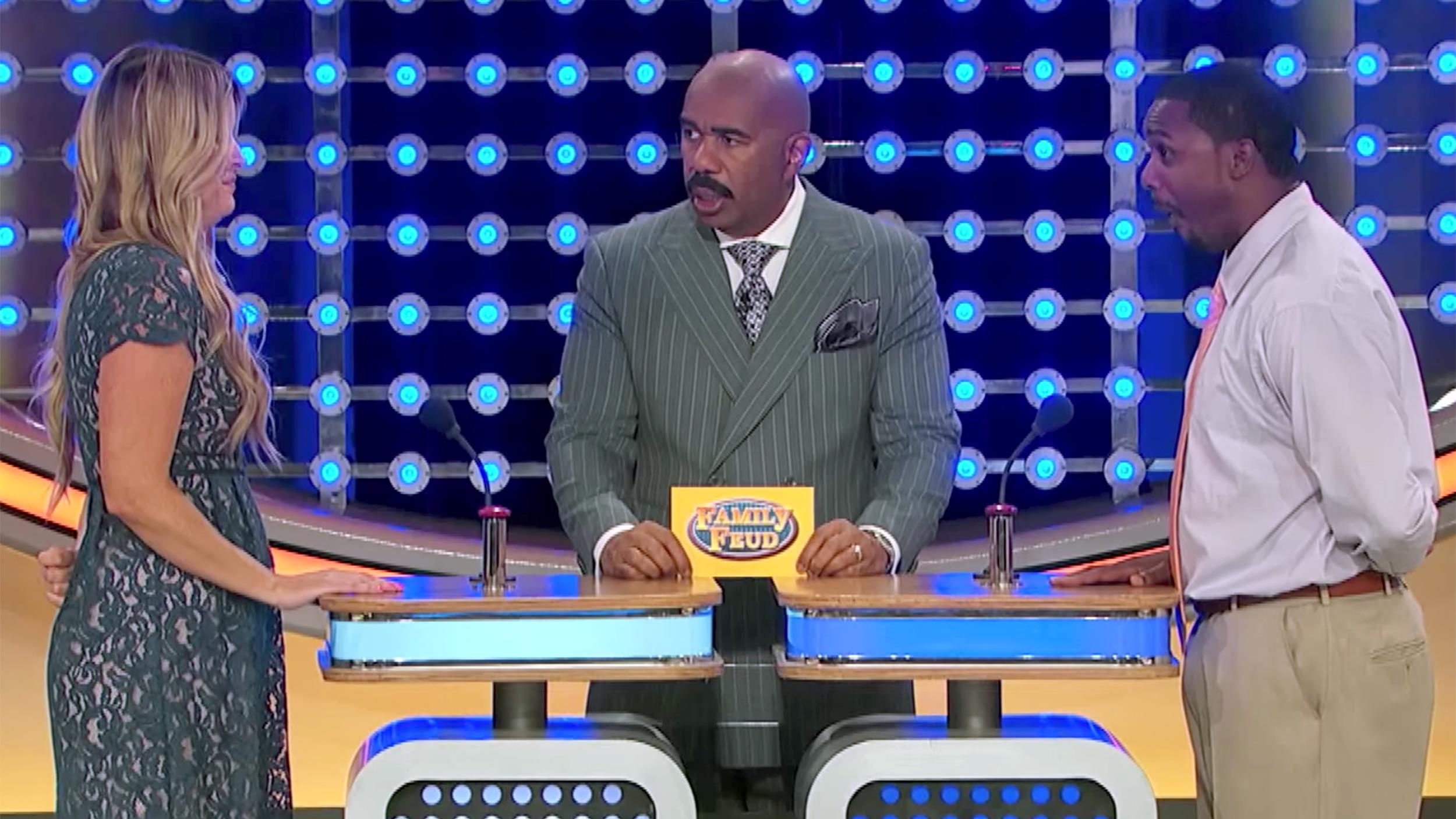 I didn't say that!' 'Family Feud' contestant wins laughs with most