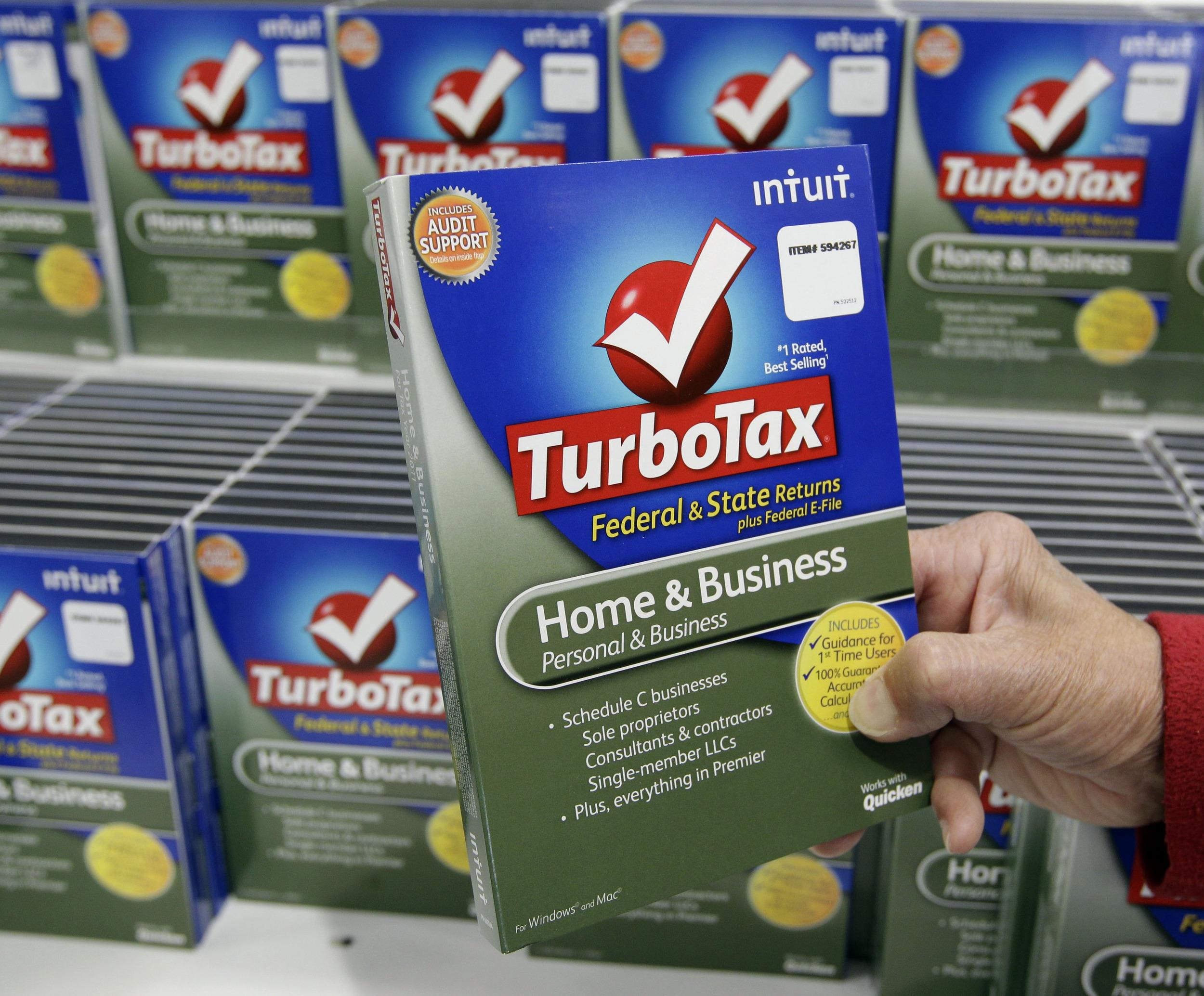 Turbotax online home & business
