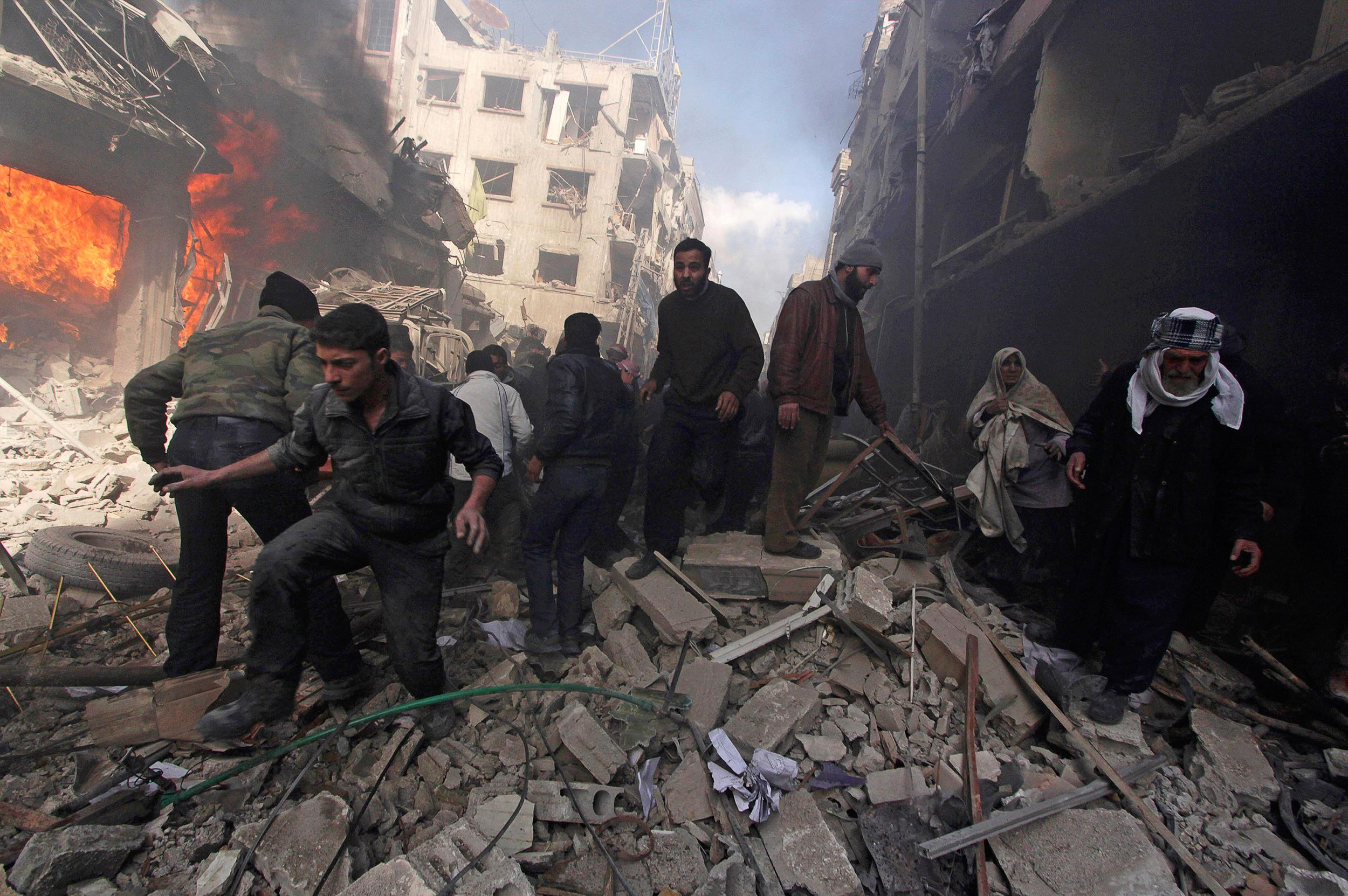the war in syria At the outset of the ongoing syrian civil war, syria was classified by the world bank as a lower middle income country in 2010.
