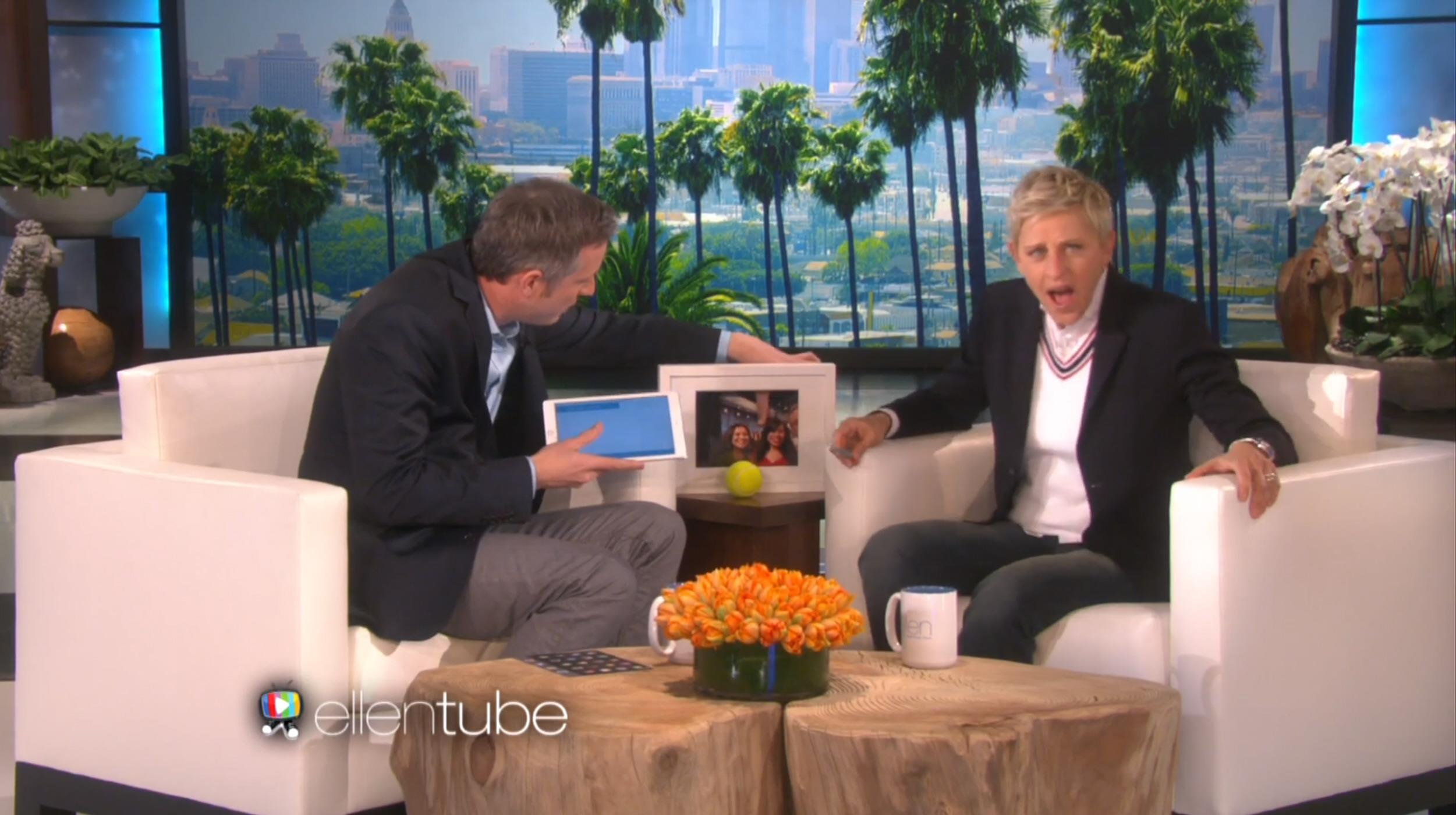 Swell Amazing Magician Stuns Ellen Degeneres With His Ipad Trickery Gamerscity Chair Design For Home Gamerscityorg