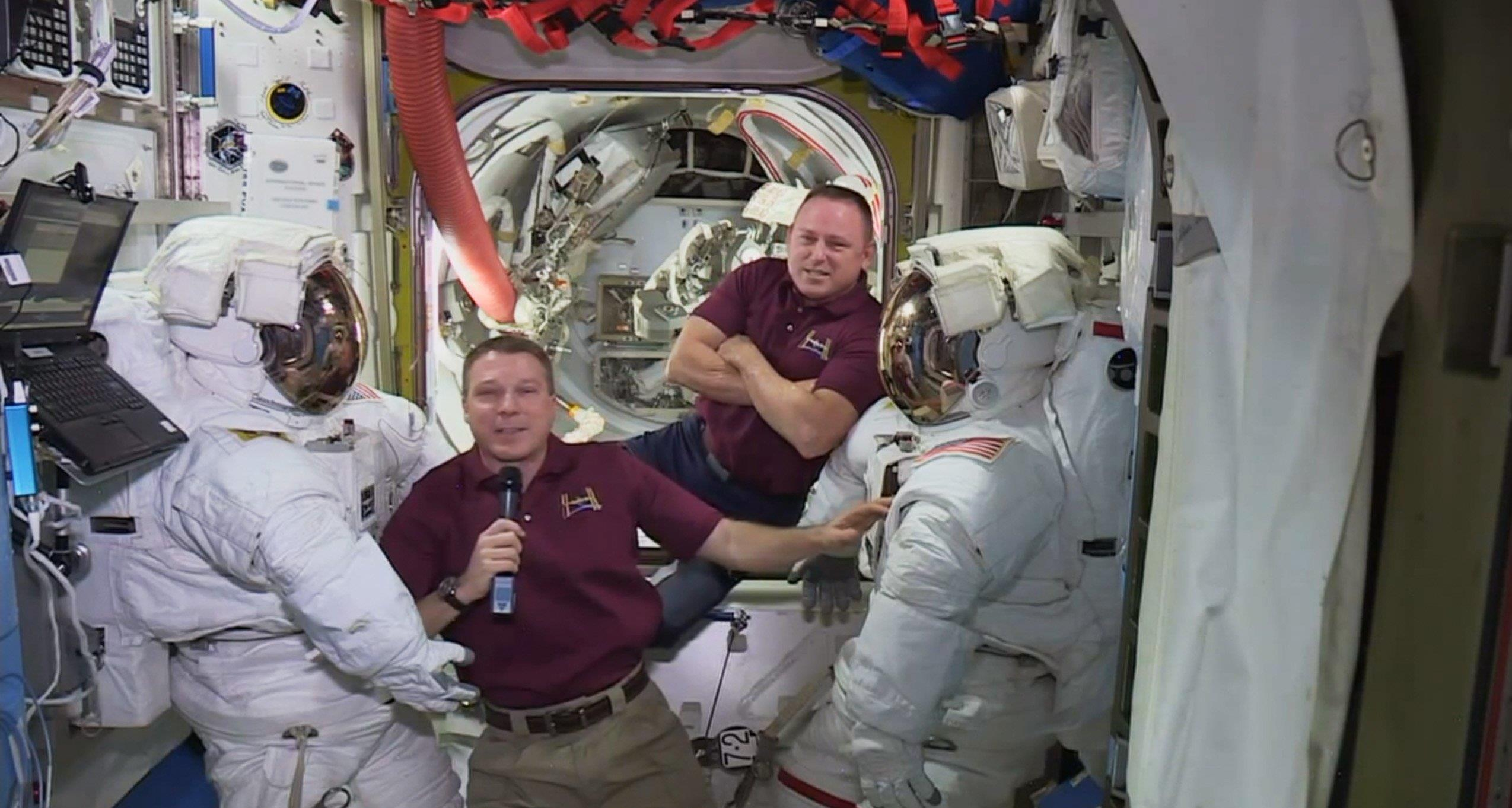 NASA Delays Space Station Spacewalk by a Day to Finish ...