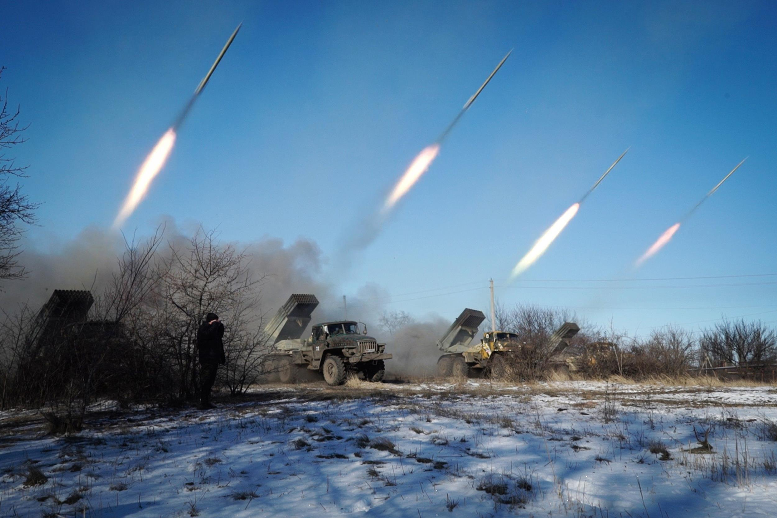 news europe images missile launcher ukraine russia