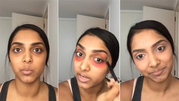 Makeup for under eye circles