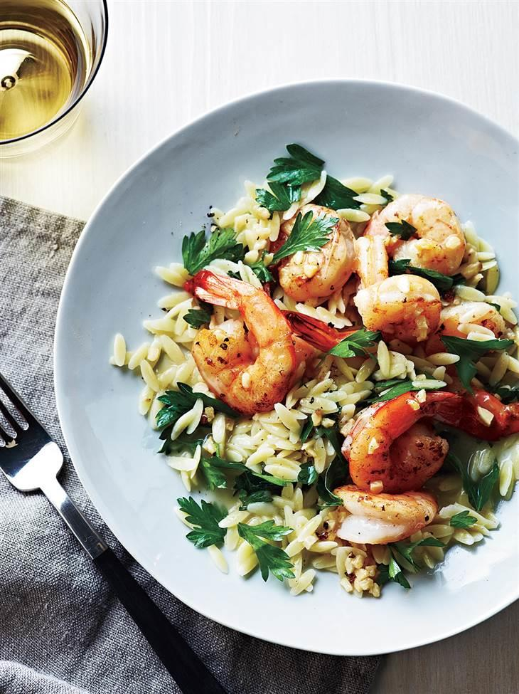 healthy shrimp scampi recipe in under 20 minutes — what a catch ...