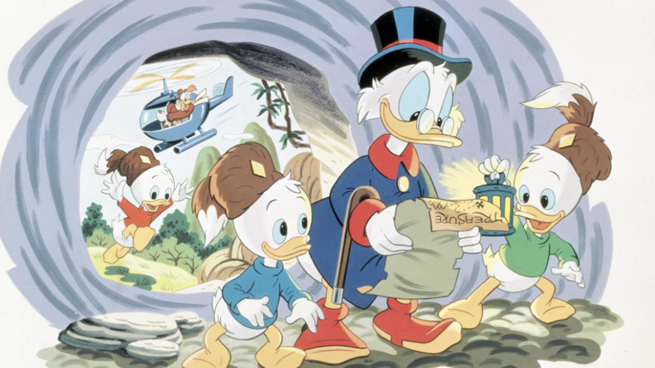 Disney - DuckTales - Intro (Multilanguage, Part 1) - YouTube