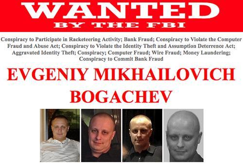 FBI Offers $3 Million Reward for Alleged Russian Hacker Evgeniy Bogachev