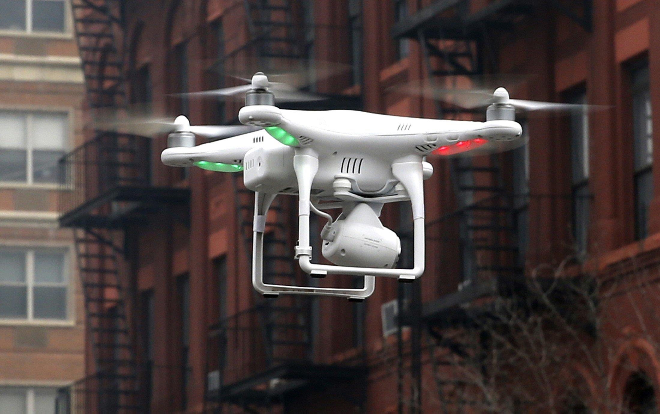 NBC News Sponsors NYC Drone