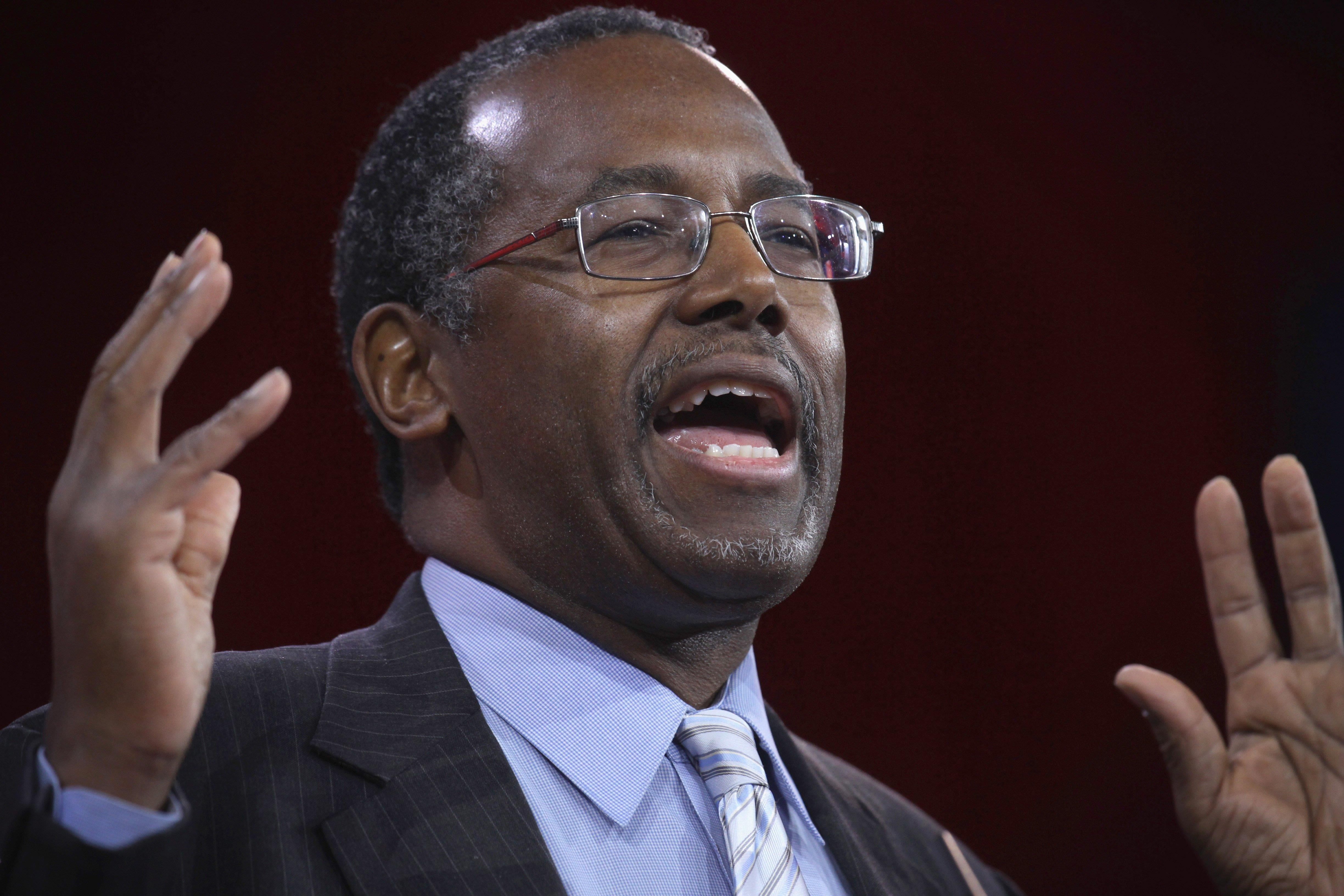 Dr Ben Carson Apologizes For Saying Being Gay Is A Choice