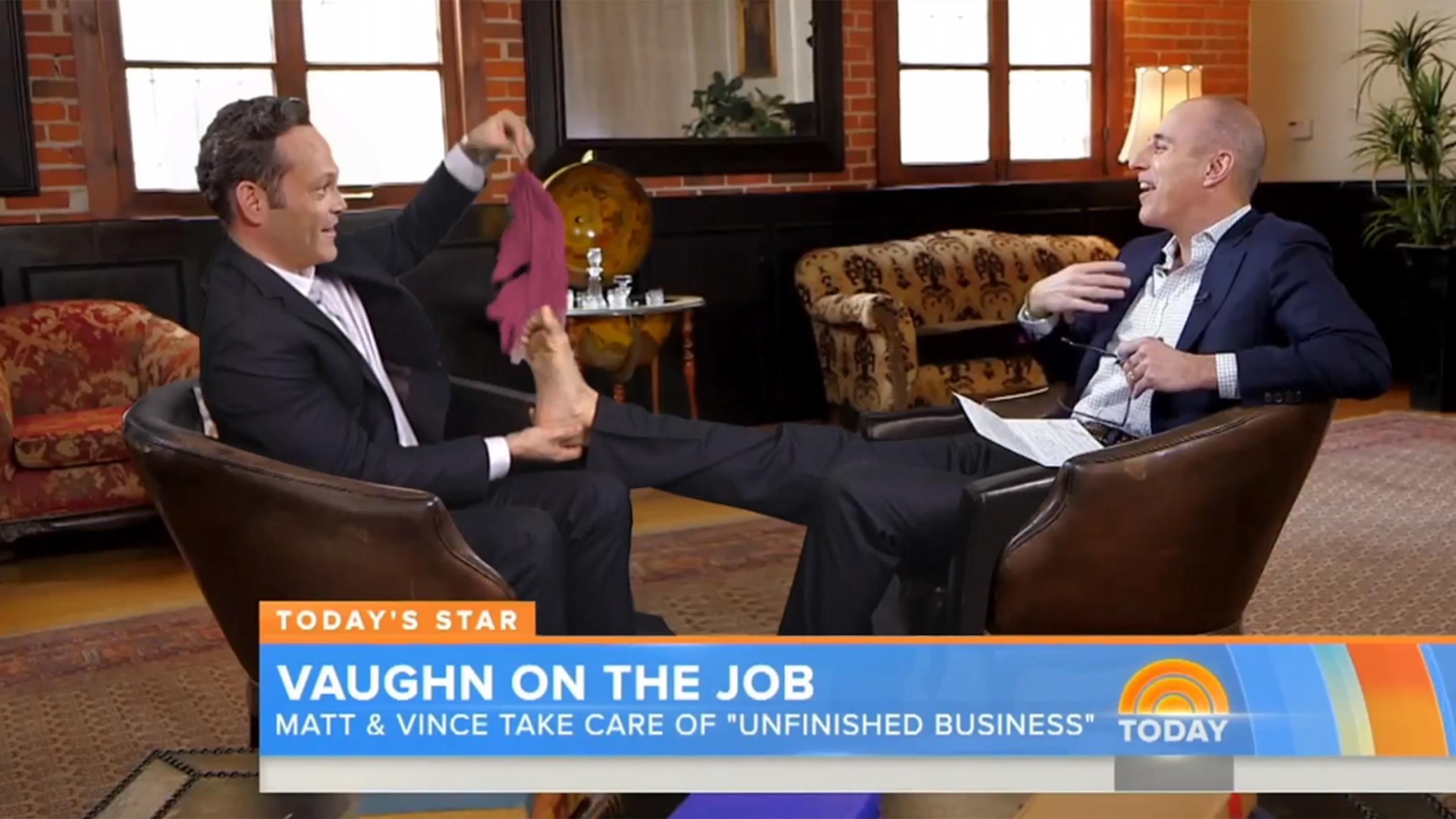 Ellen DeGeneres pranks Matt Lauer before he can get his revenge - TODAY.com