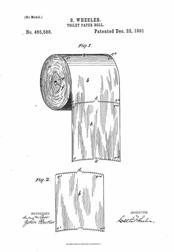 toilet paper  u0026 39 over or under u0026 39  debate resolved via 1891