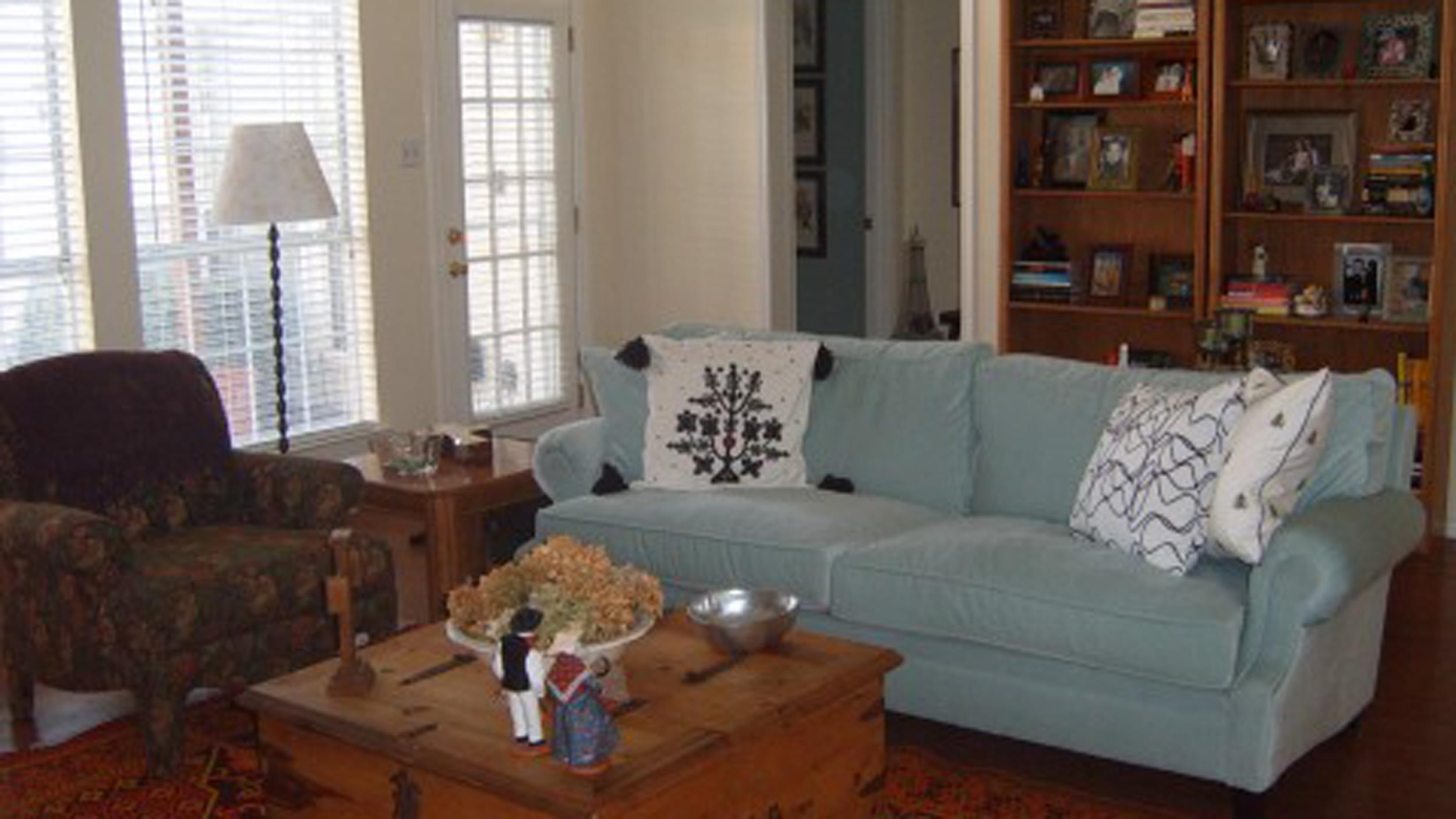 Living Room Makeover See The Transformation That Led To A Real Estate Bidding War