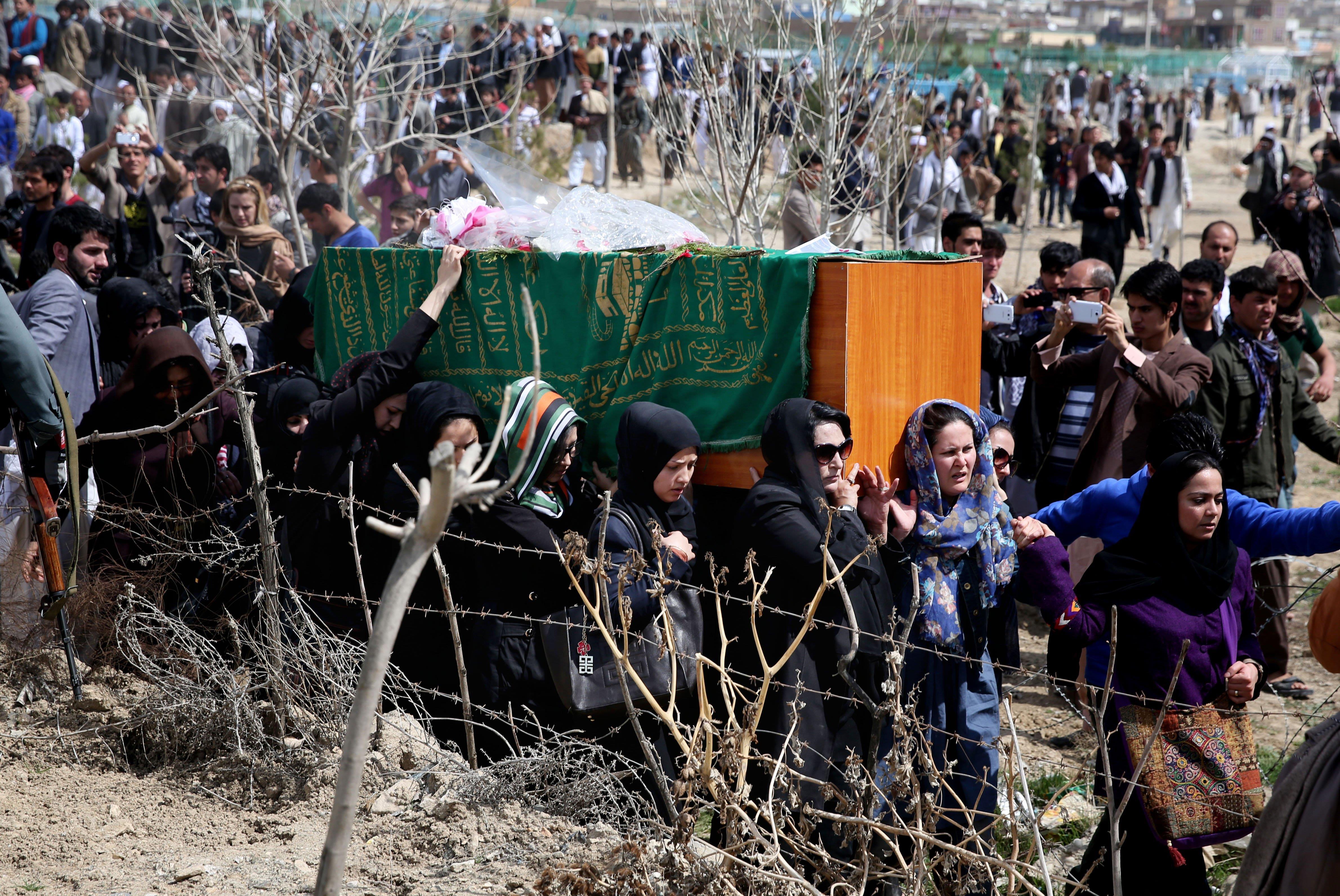 Death Sentences Overturned in Afghan Woman's Mob Killing