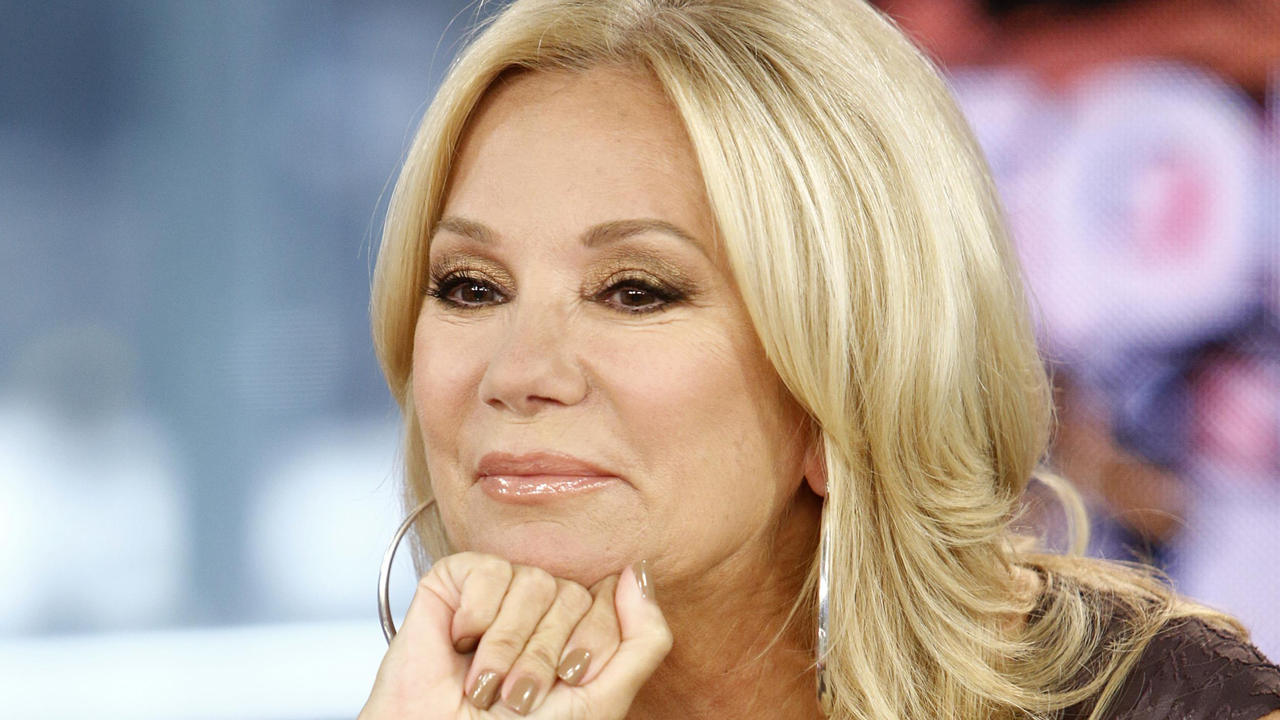 Kathie Lee Gifford Hairstyle Kathie Lee Gifford's Eye